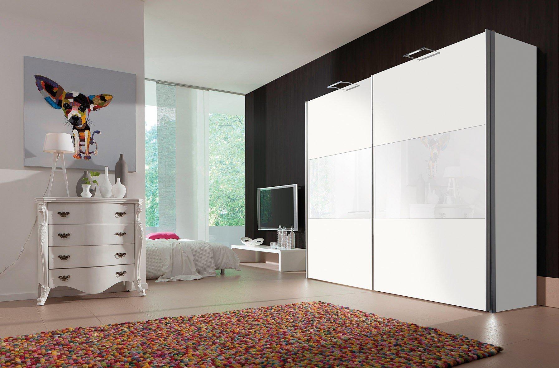 Lovely Einfache Dekoration Und Mobel Individuelle Schraenke Made In Germany 2 #2: Stars Von Express - Schrank Polarweiß Mit Weißglas