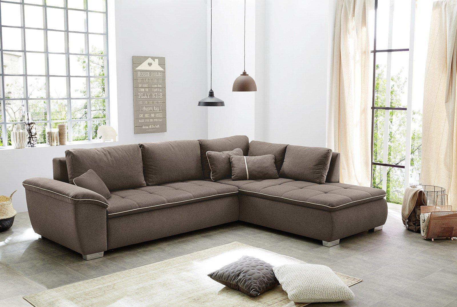 jockenh fer cordoba eckcouch braun m bel letz ihr online shop. Black Bedroom Furniture Sets. Home Design Ideas