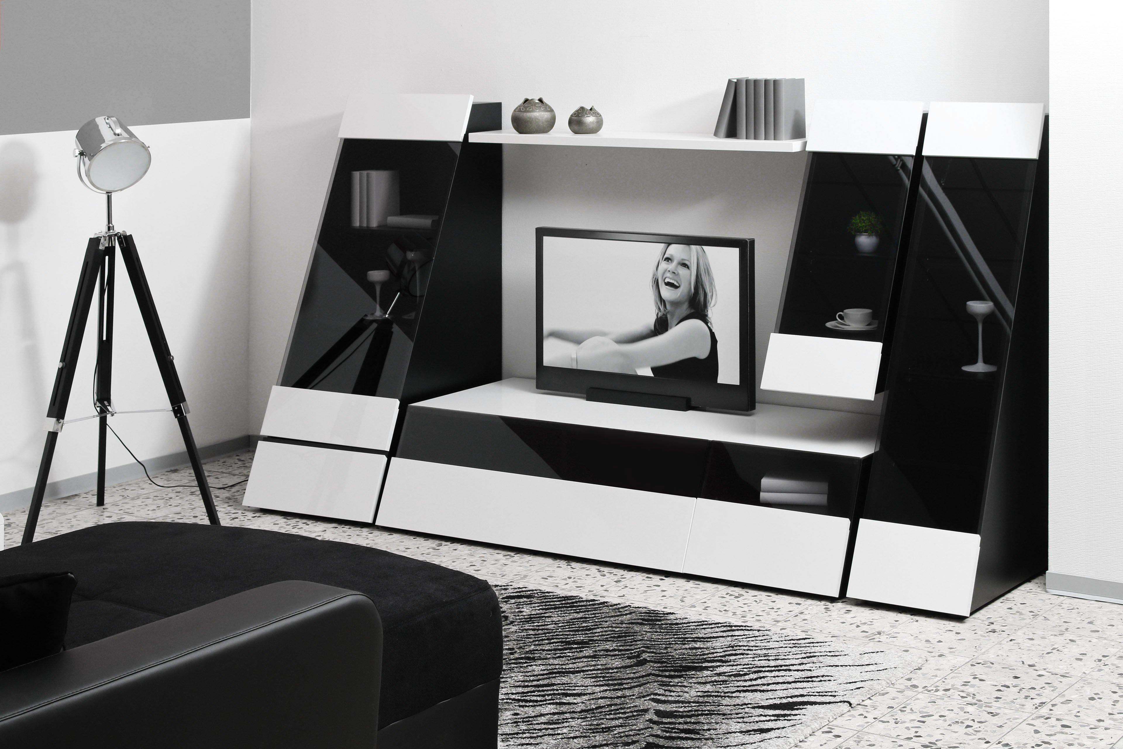 wohnwand medion aus der kollektion letz m bel letz ihr online shop. Black Bedroom Furniture Sets. Home Design Ideas