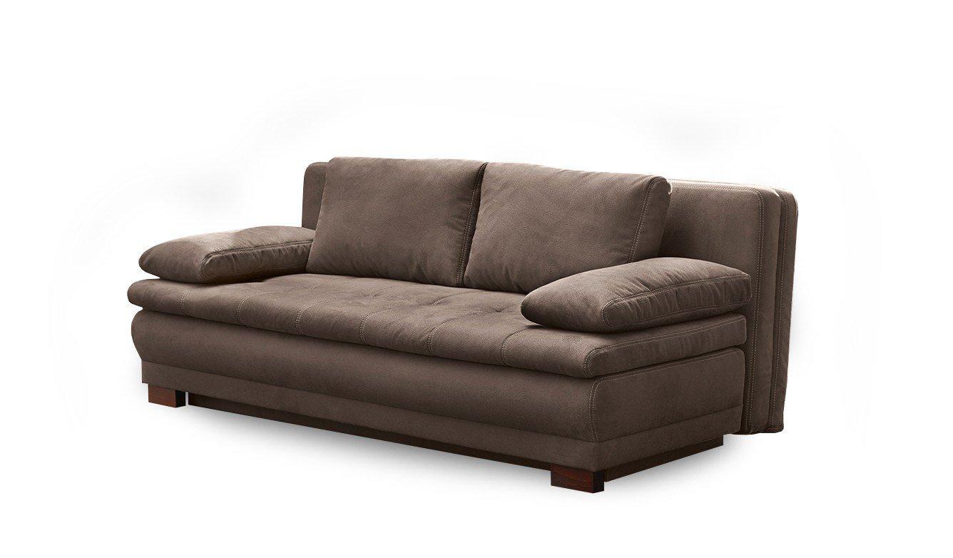 jockenh fer lennart lina schlafsofa braun inklusive bettkasten m bel letz ihr online shop. Black Bedroom Furniture Sets. Home Design Ideas