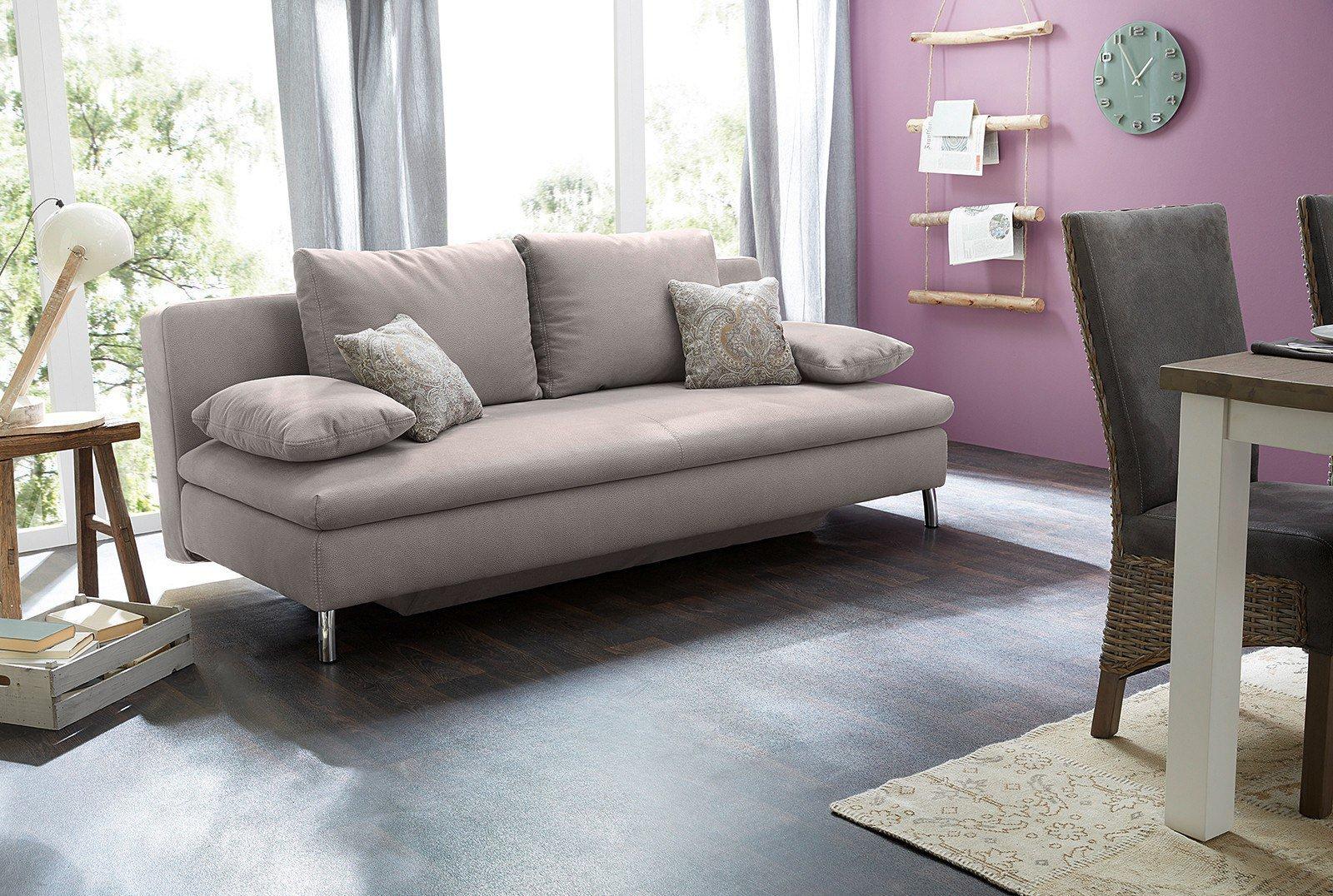 jockenh fer jason jan funktionssofa grau mit bettkasten. Black Bedroom Furniture Sets. Home Design Ideas