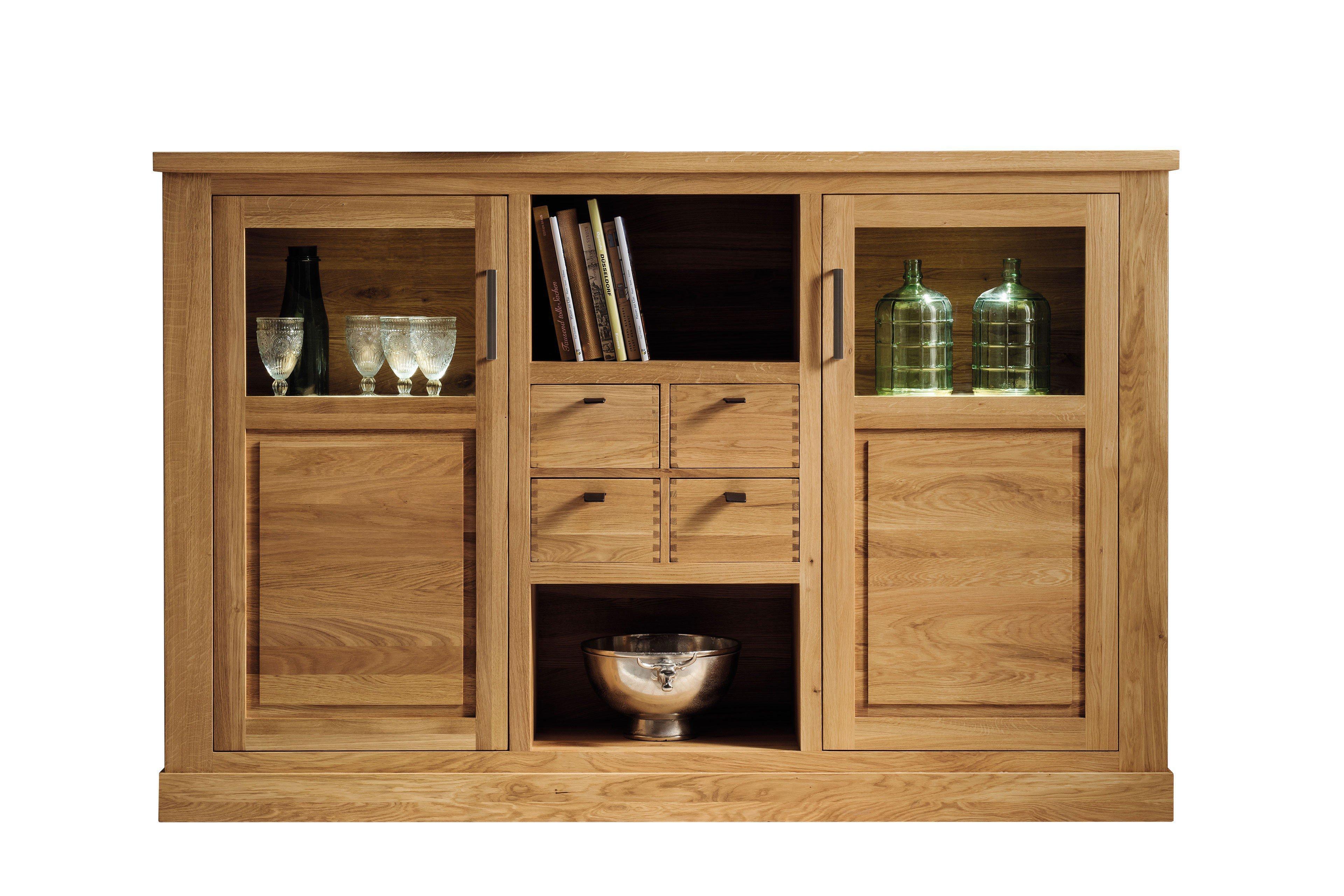 pure natur highboard ylva eiche m bel letz ihr online shop. Black Bedroom Furniture Sets. Home Design Ideas