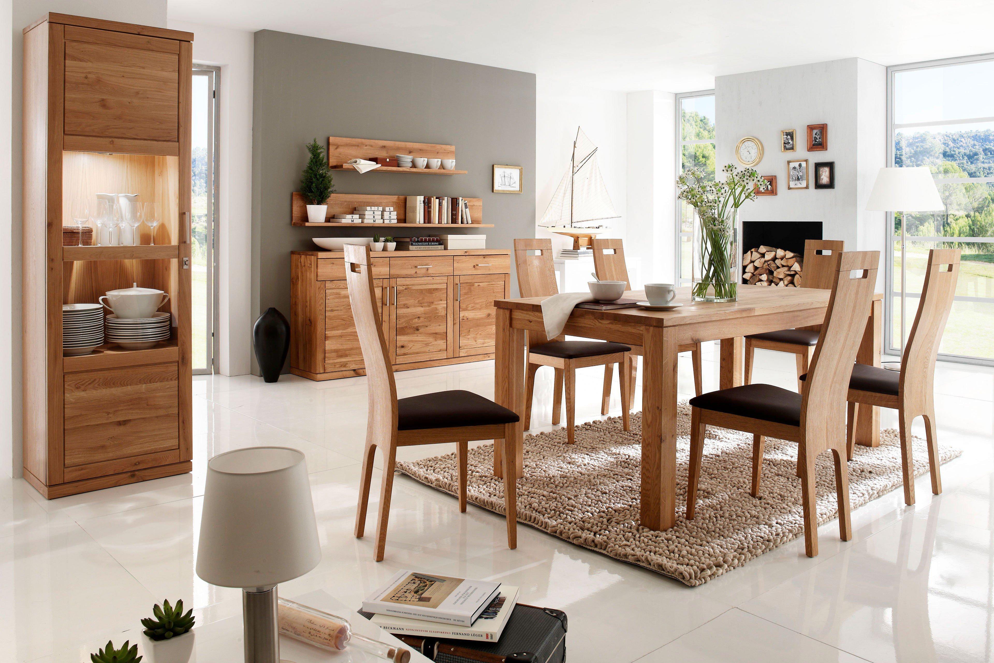 Esszimmer Von Dudinger   Tisch Lisa/ Dora U0026 Stuhl Bianca