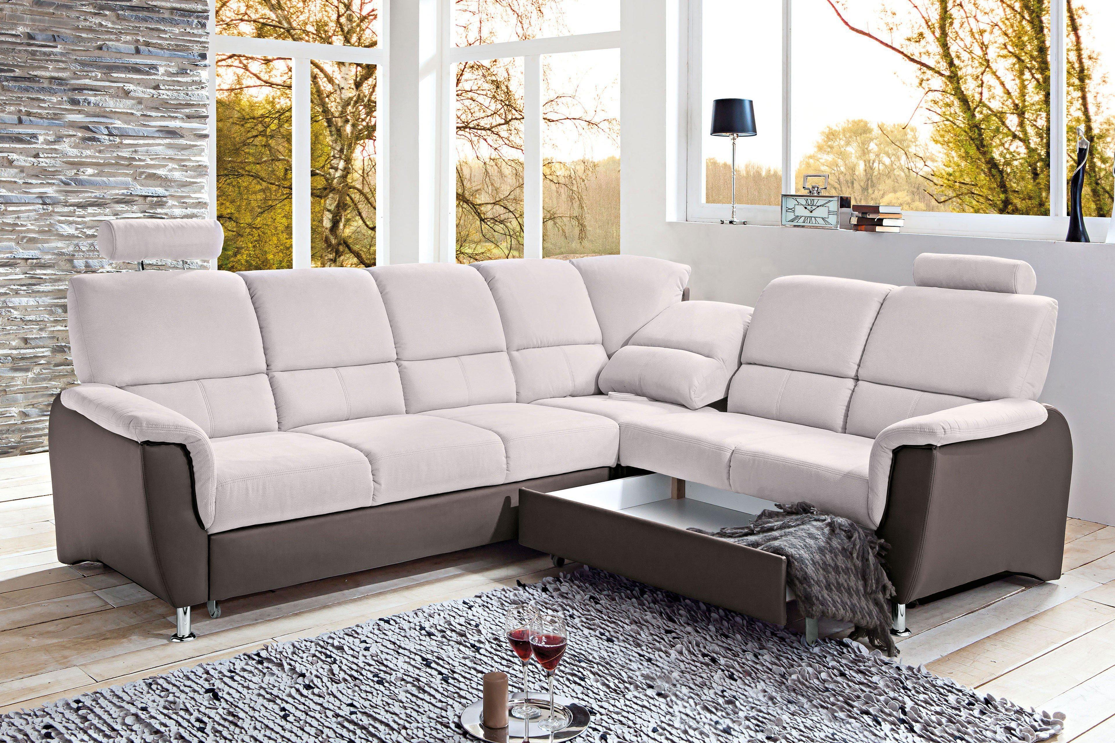 benformato pisa ecksofa hellgrau grau m bel letz ihr. Black Bedroom Furniture Sets. Home Design Ideas