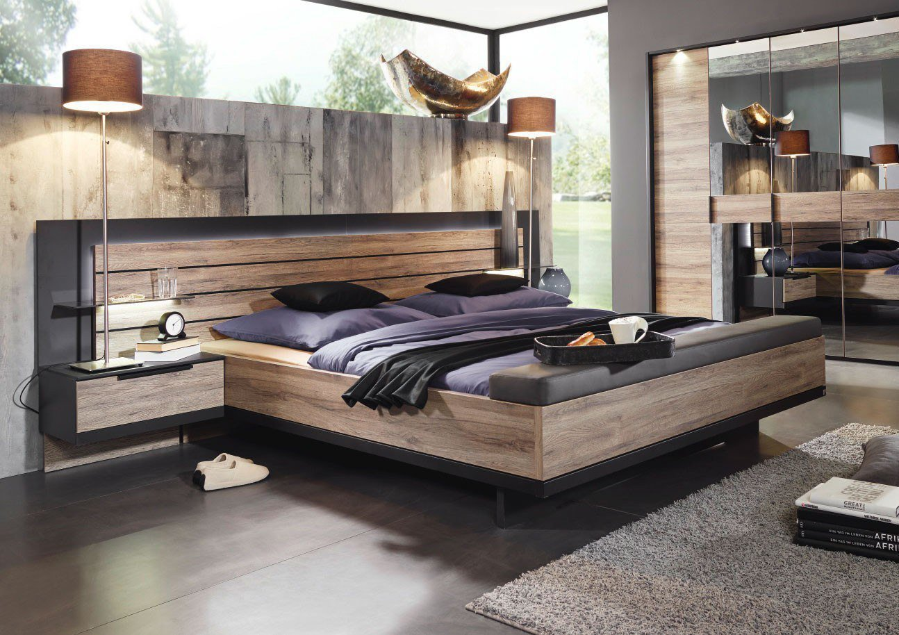 haengende moebel im schlafzimmer kiefer mobel massiv cool. Black Bedroom Furniture Sets. Home Design Ideas