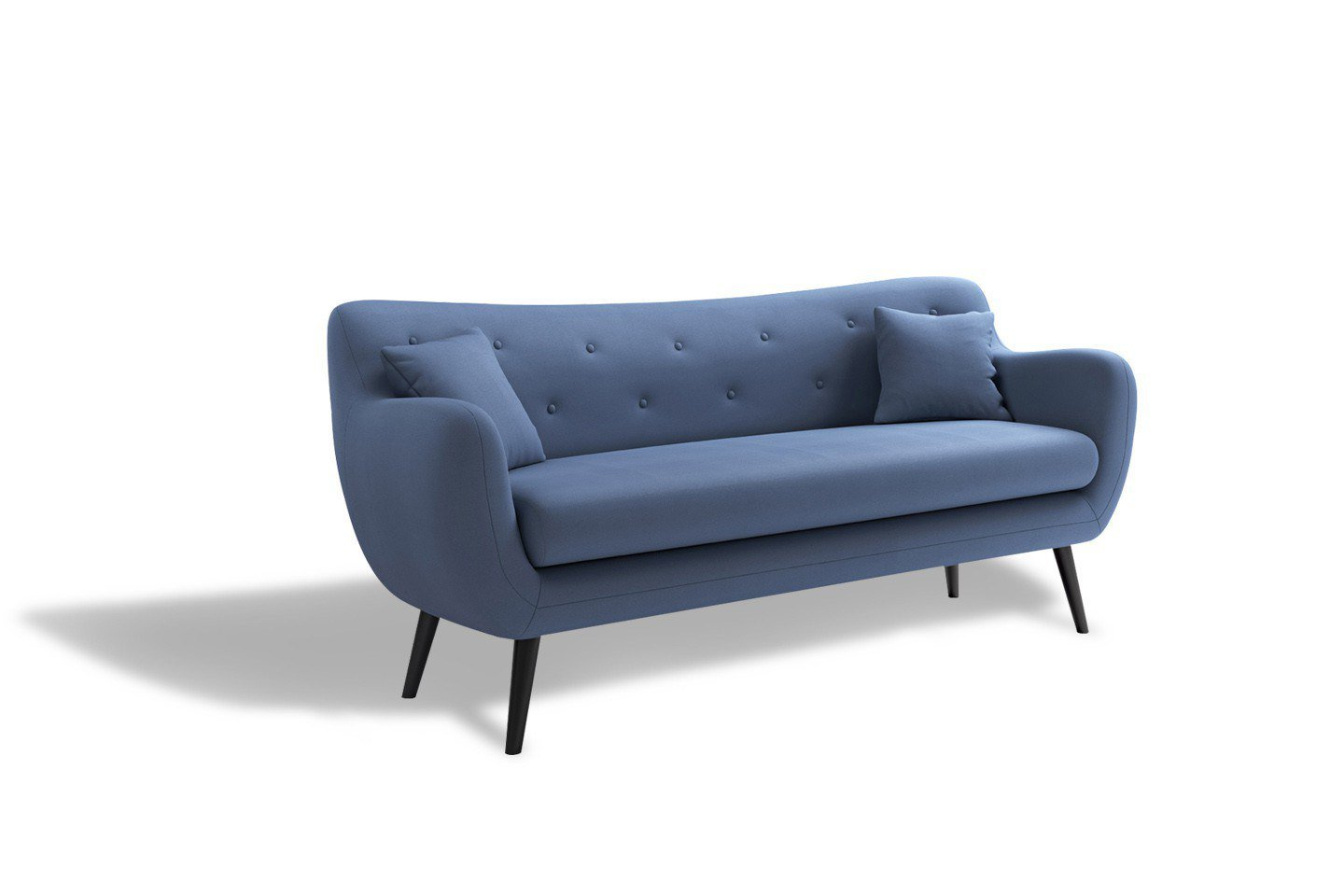 new look george sofa in blau m bel letz ihr online shop. Black Bedroom Furniture Sets. Home Design Ideas