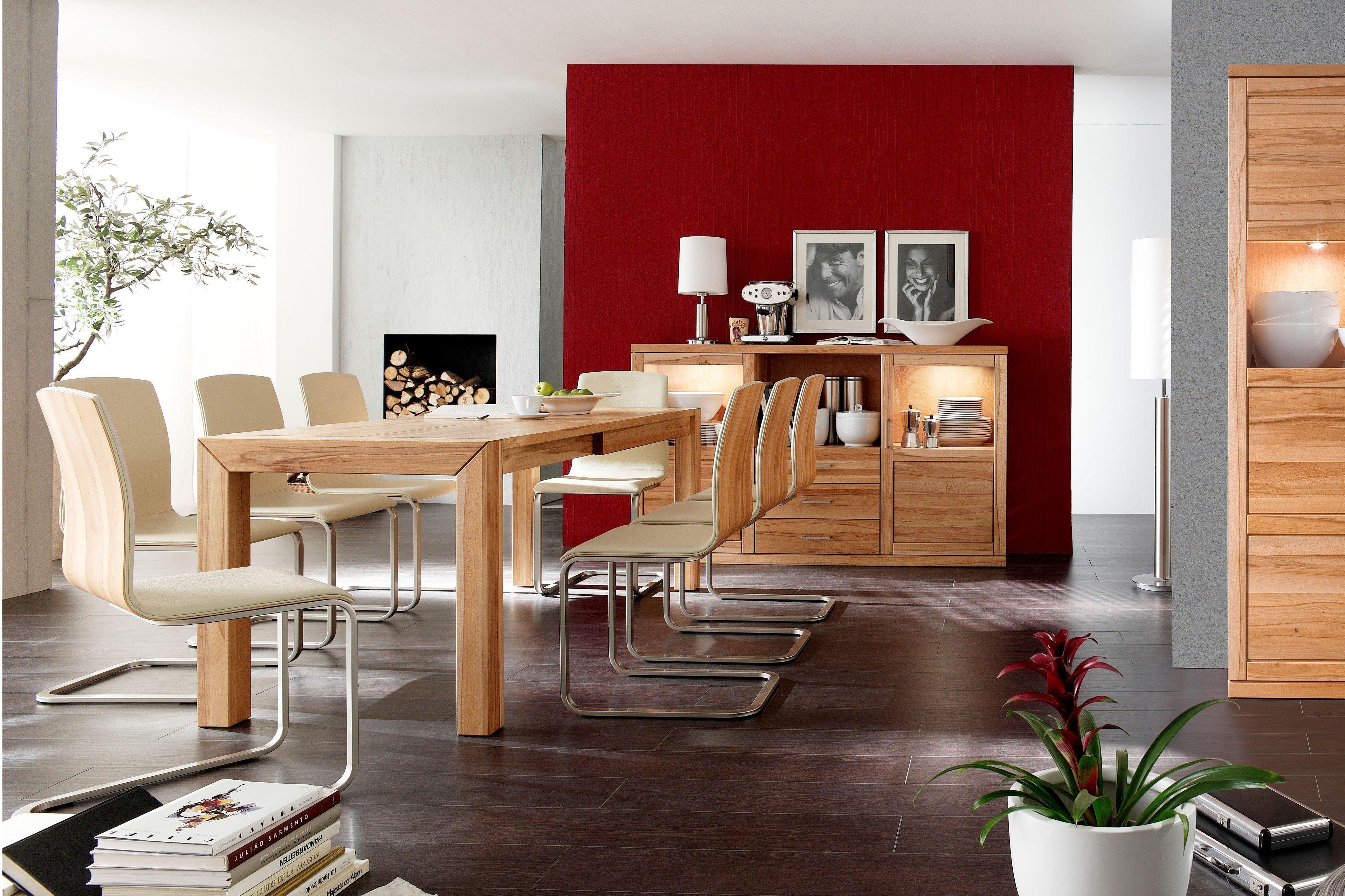 Esszimmer Von Dudinger   Tisch Bianca/ Caroline U0026 Stuhl Tanja