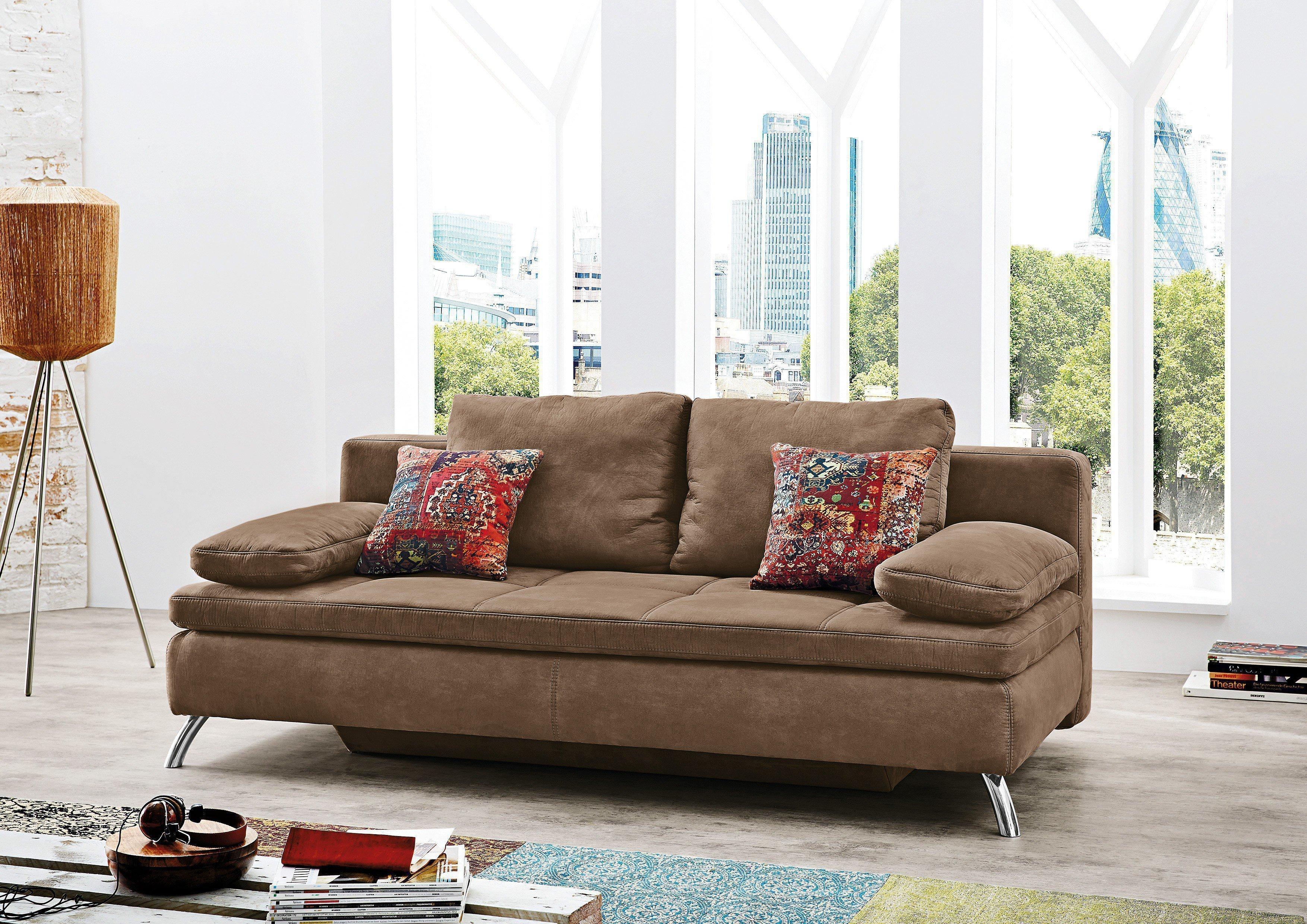 jockenh fer jamaika bakersfield schlafsofa hellbraun mit bettkasten m bel letz ihr online shop. Black Bedroom Furniture Sets. Home Design Ideas
