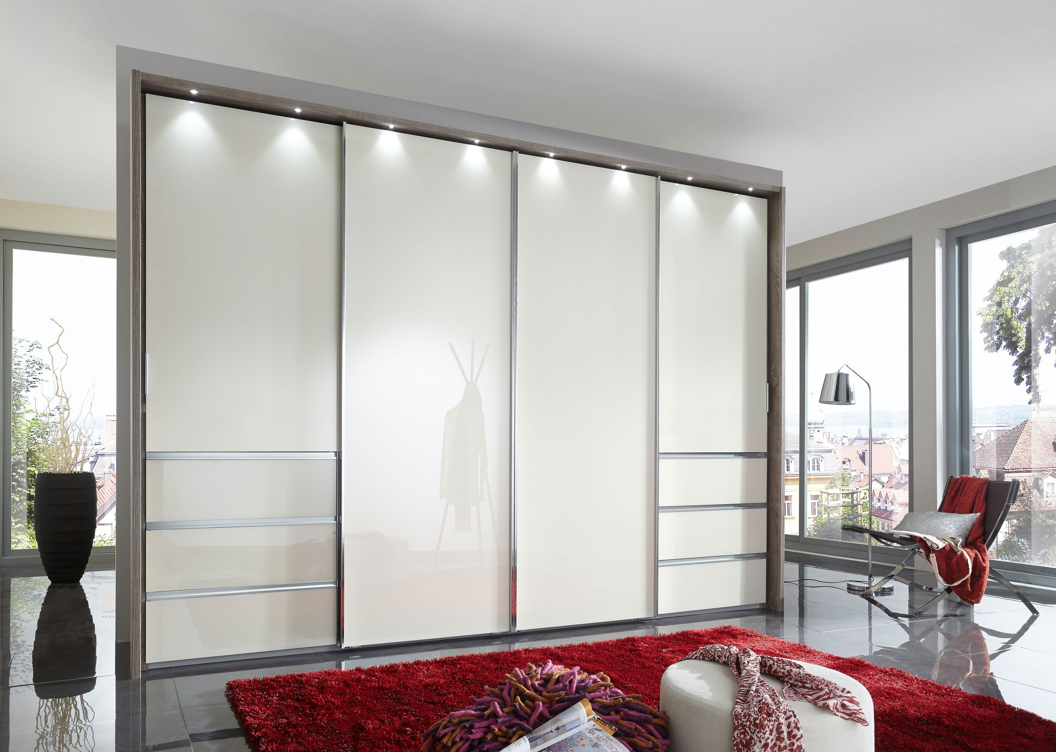 wiemann malibu kleiderschrank 4 t rig m bel letz ihr online shop. Black Bedroom Furniture Sets. Home Design Ideas