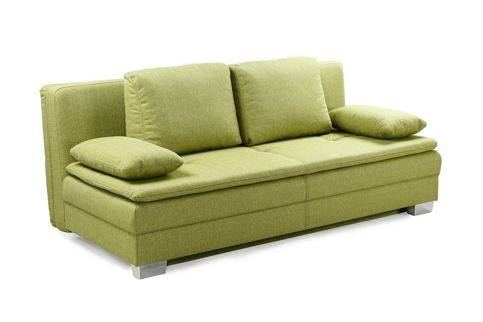 Schlafsofa grün  Schlafsofa Florenz/Juana in Grün von Job. Möbel Letz - Ihr Online-Shop