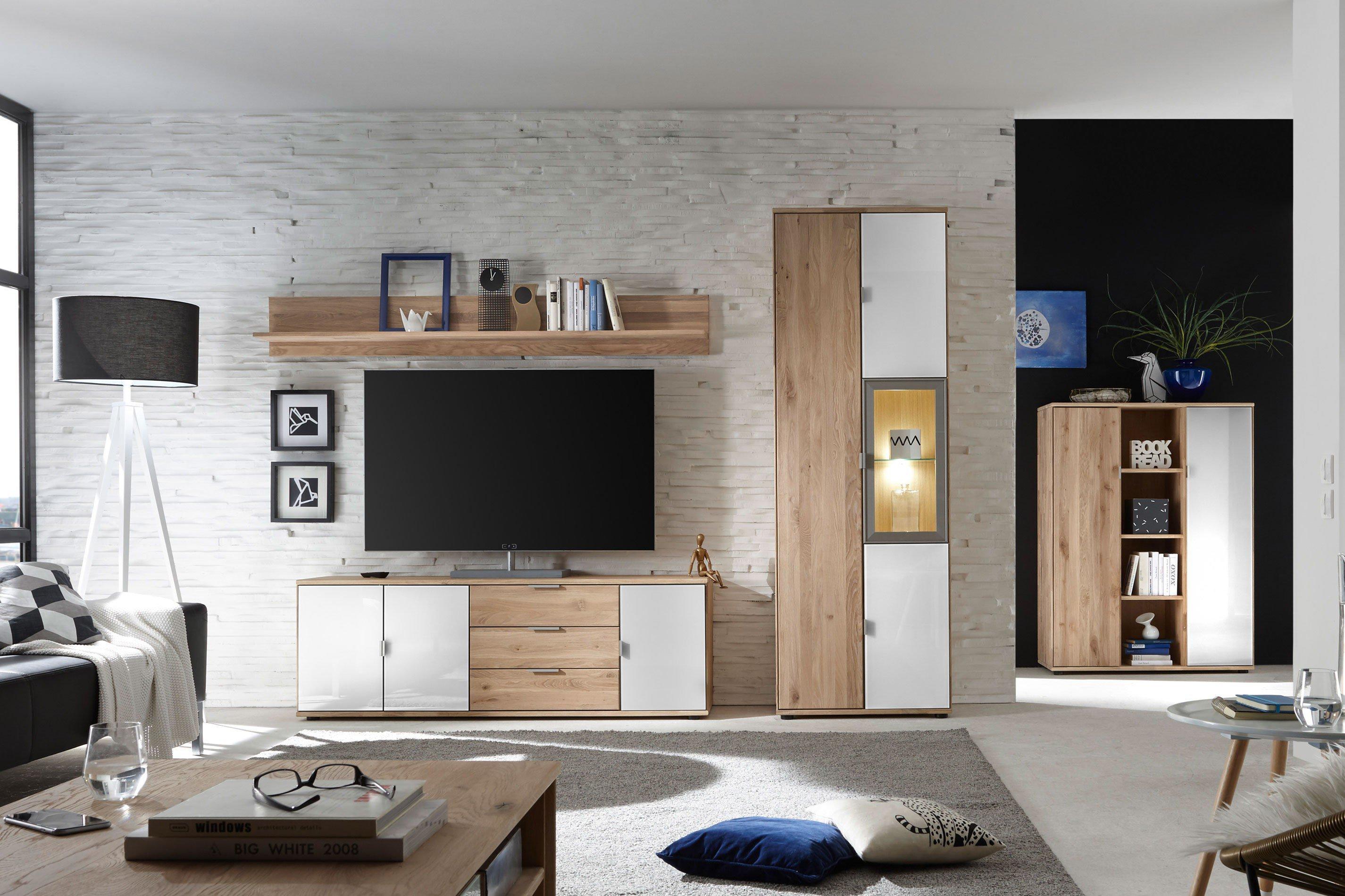 quadrato wohnwand como 40 52 23 wildeiche massiv m bel. Black Bedroom Furniture Sets. Home Design Ideas