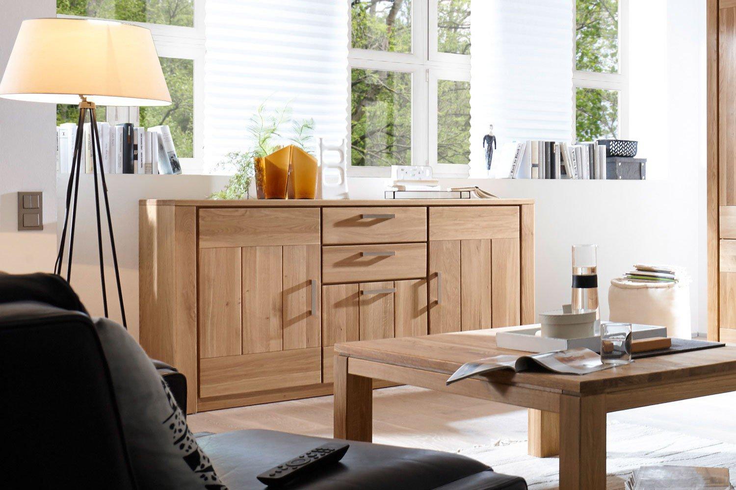 quadrato sideboard savona wildeiche ge lt m bel letz. Black Bedroom Furniture Sets. Home Design Ideas