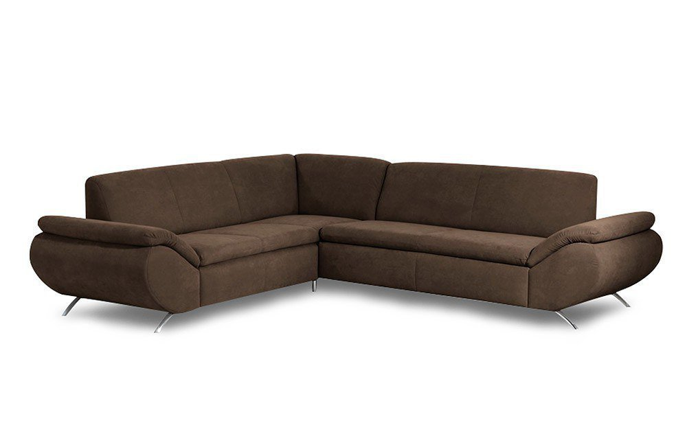 max winzer marseille ecksofa braun m bel letz ihr. Black Bedroom Furniture Sets. Home Design Ideas