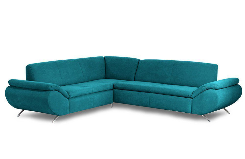 Ecksofa petrol otto schlafcouch luxus couch petrol cosy for Mobilia xxl mannheim