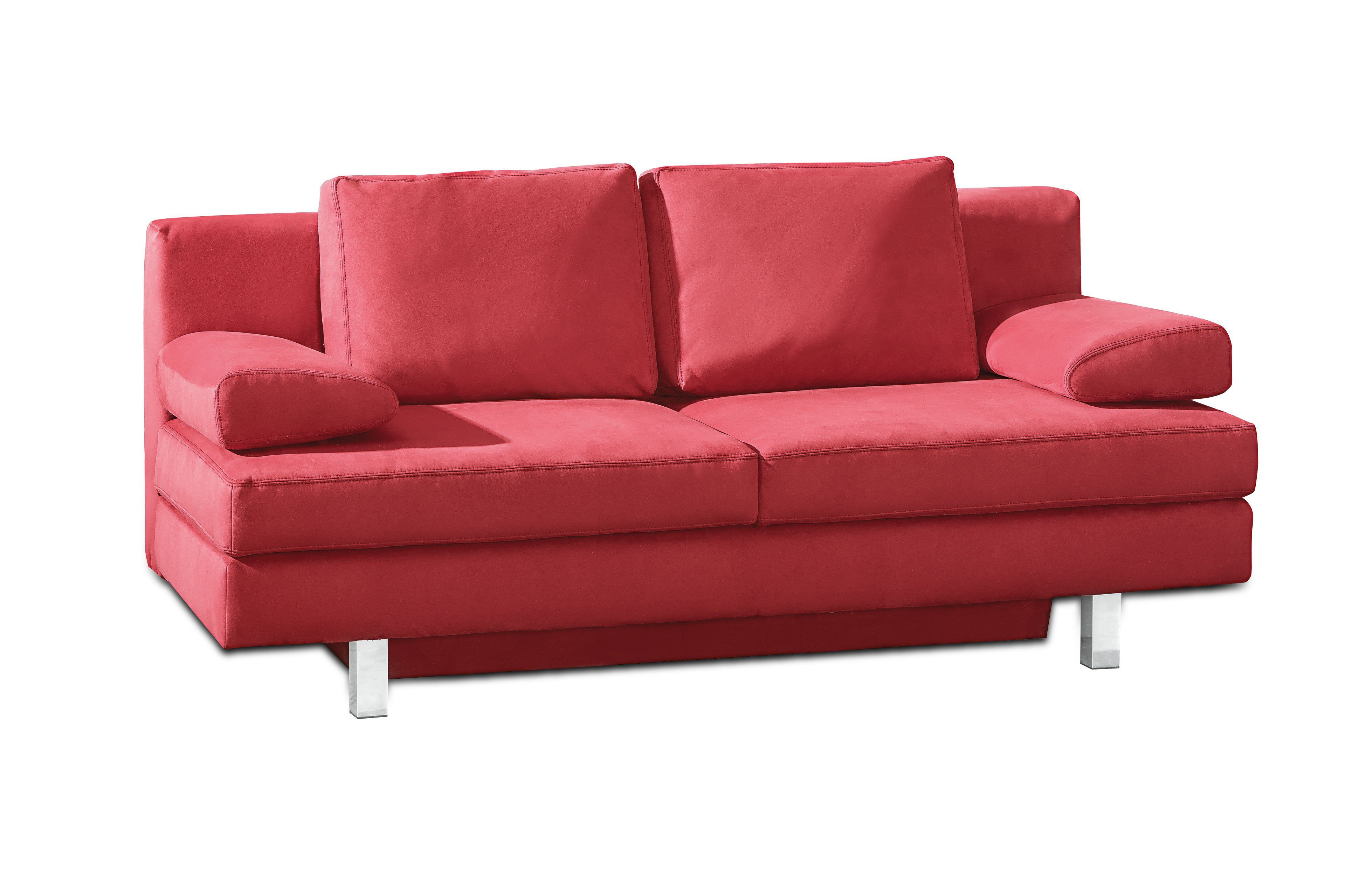 restyl rhonda schlafsofa in rot m bel letz ihr online shop. Black Bedroom Furniture Sets. Home Design Ideas