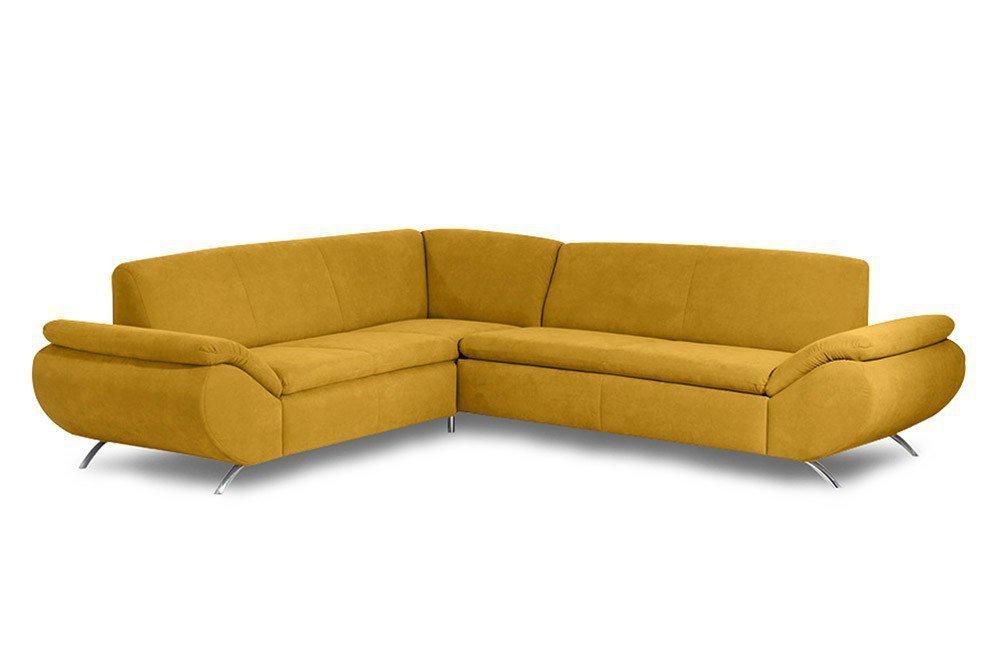 Max Winzer Marseille Ecksofa gelb | Möbel Letz - Ihr Online-Shop