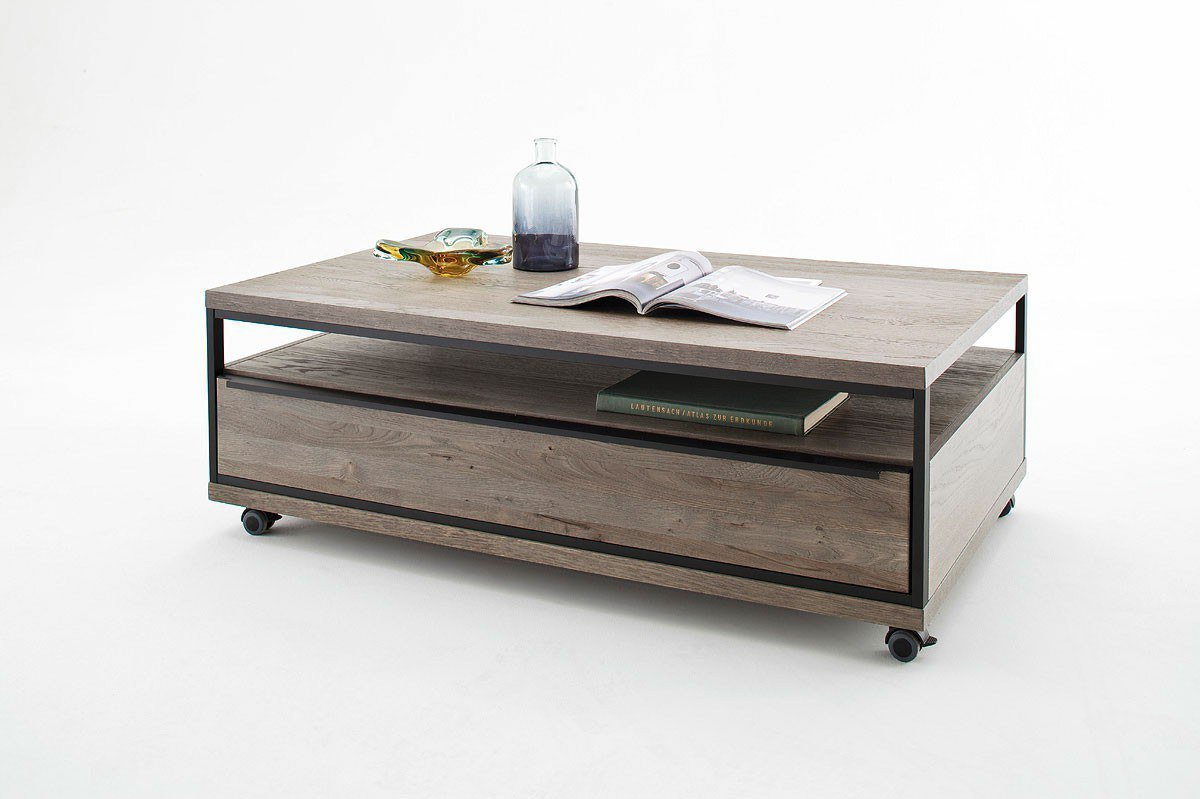 mca wohnwand avignon i eiche stone grau m bel letz ihr. Black Bedroom Furniture Sets. Home Design Ideas