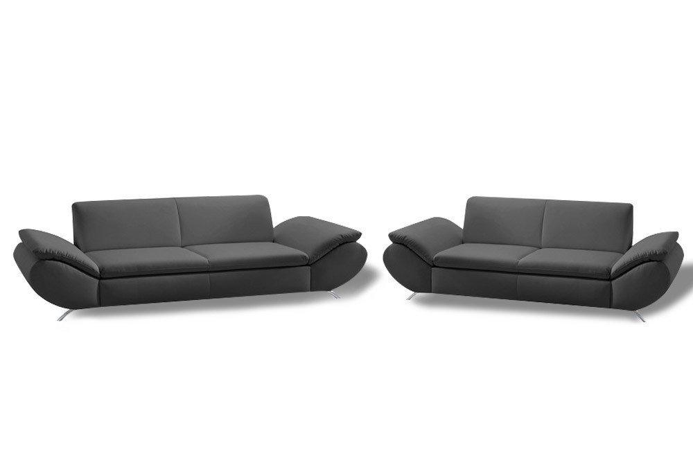 Max Winzer Marseille Sofaduo schwarz | Möbel Letz - Ihr Online-Shop