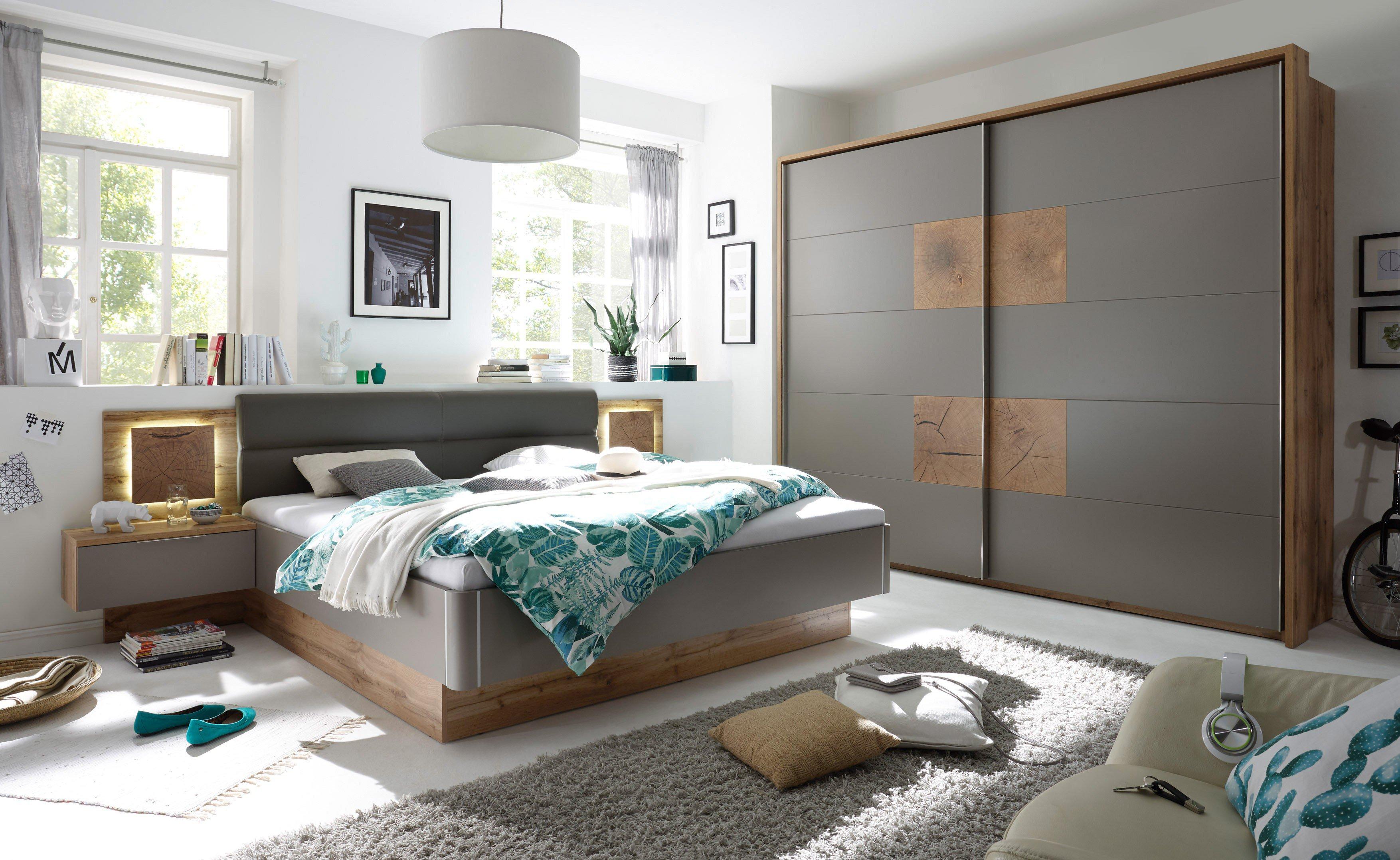 POL Power Capri Schlafzimmer basalt Hirnholz | Möbel Letz - Ihr ...