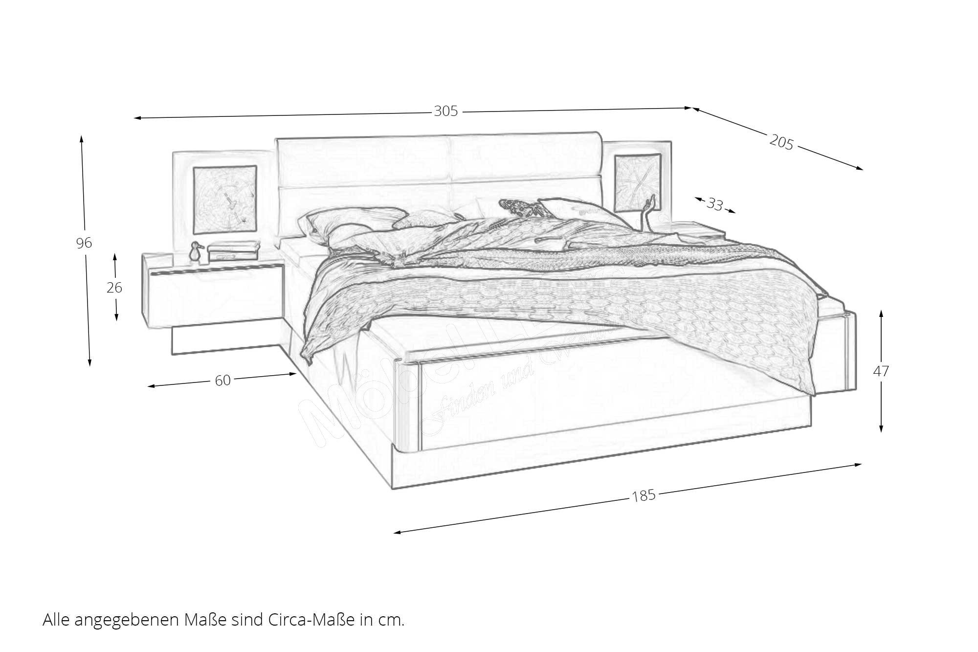 Loddenkemper Schlafzimmer Merano