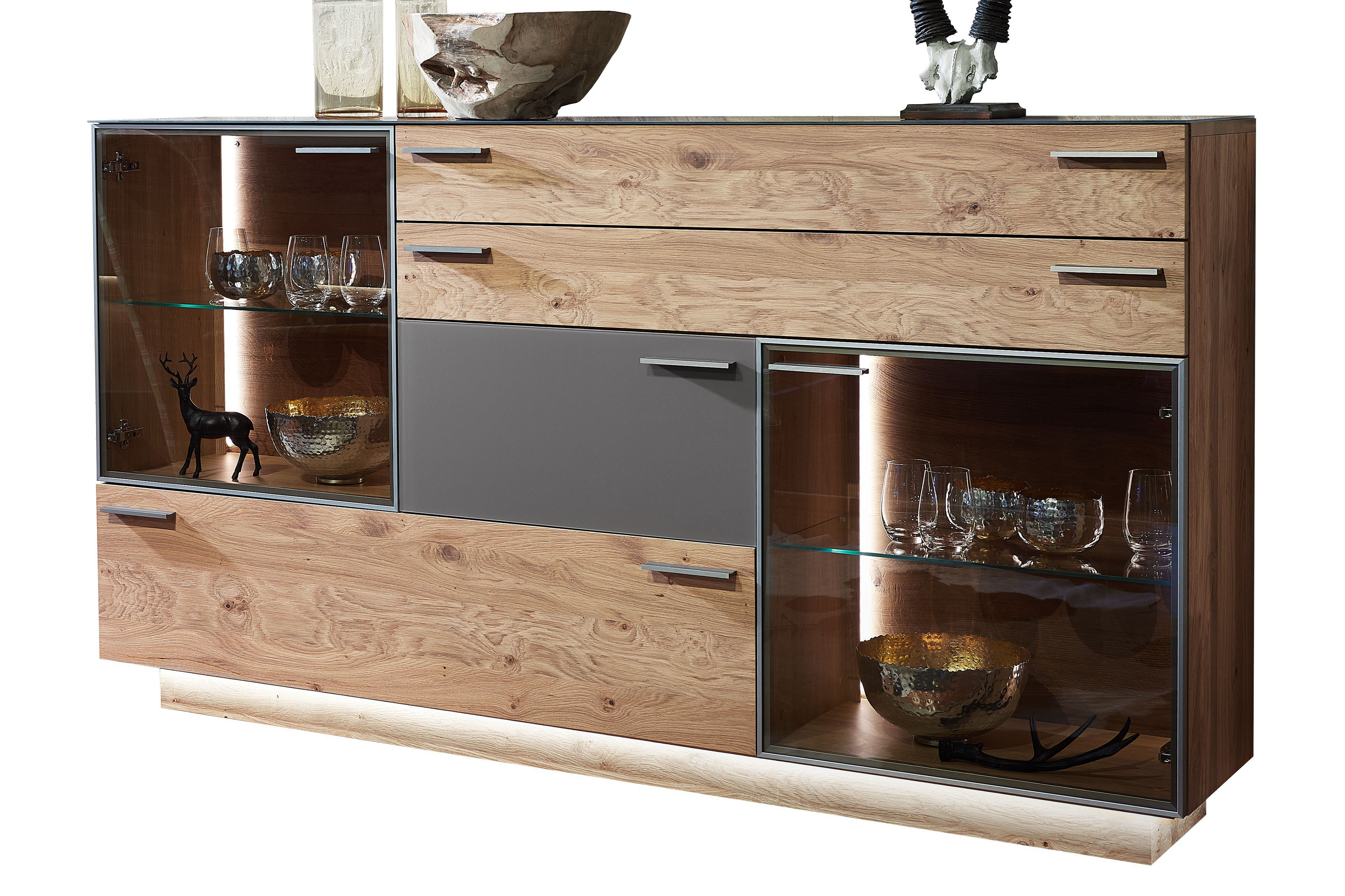 schr der wohnm bel sideboard kitzalm montana kernasteiche grau m bel letz ihr online shop. Black Bedroom Furniture Sets. Home Design Ideas