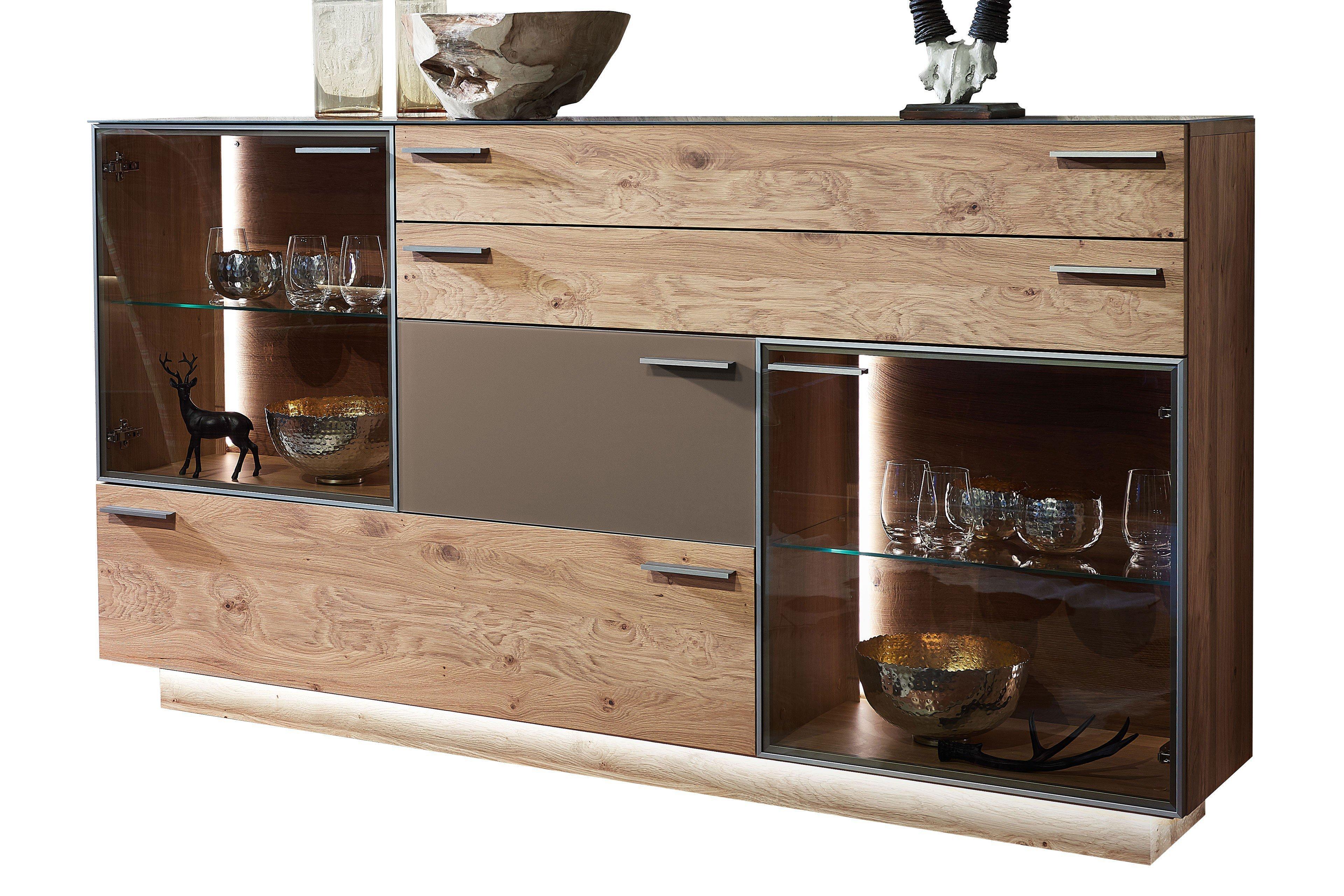 schr der wohnm bel sideboard kitzalm montana kernasteiche. Black Bedroom Furniture Sets. Home Design Ideas
