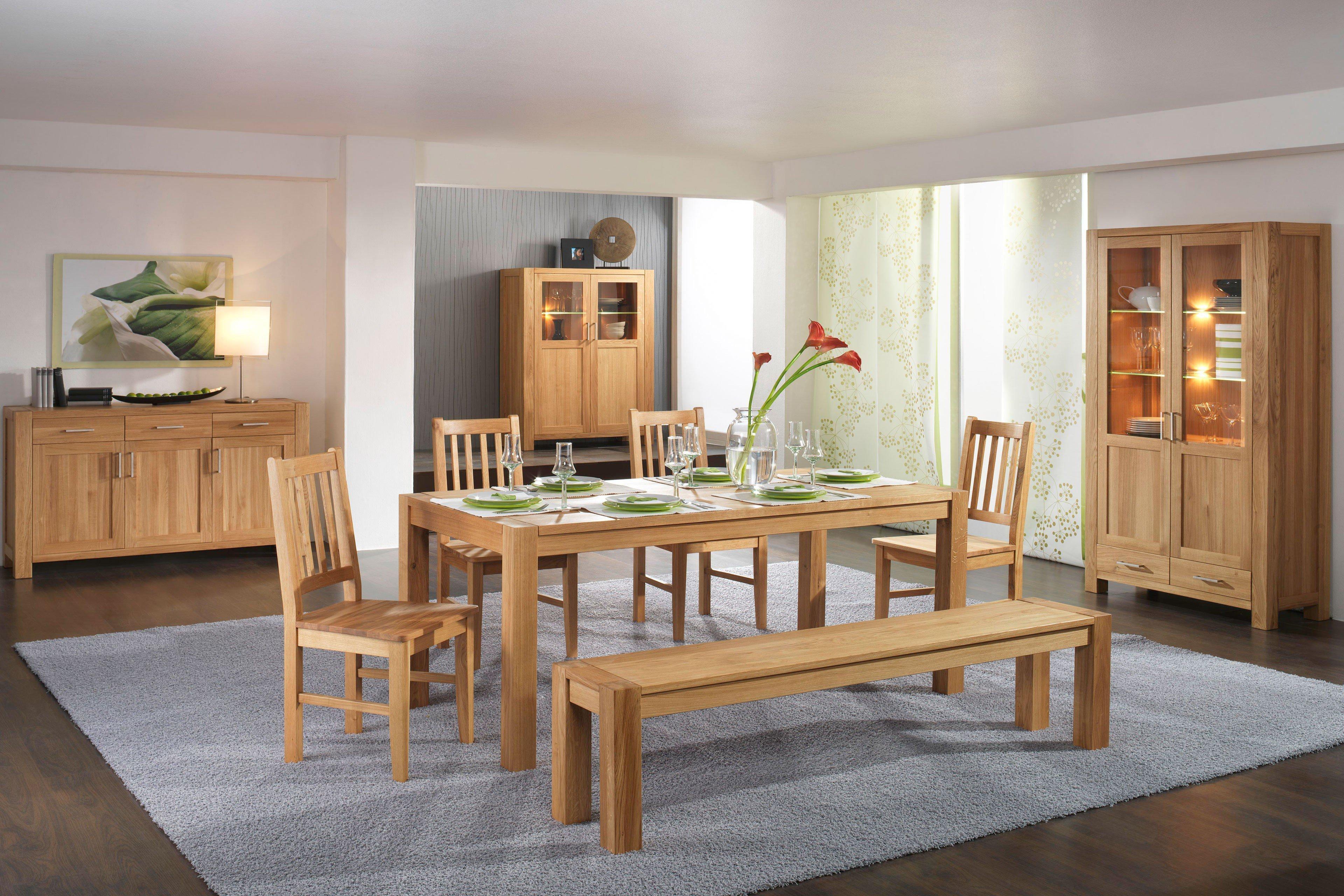 Esszimmer Von Dudinger   Tisch Lara/ Sabine U0026 Stuhl Lisa