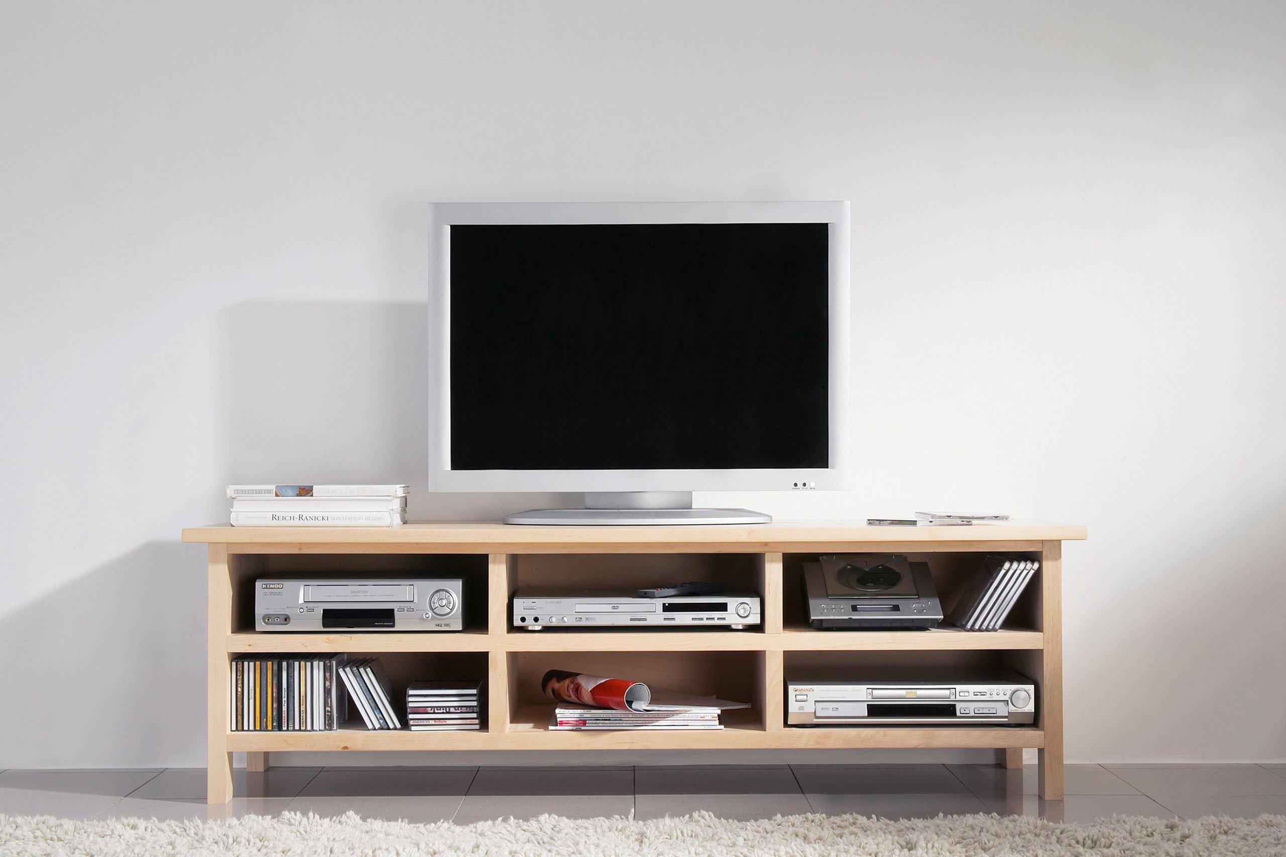 dudinger furniture tv konsole lisa li 500 aus massiver birke m bel letz ihr online shop. Black Bedroom Furniture Sets. Home Design Ideas
