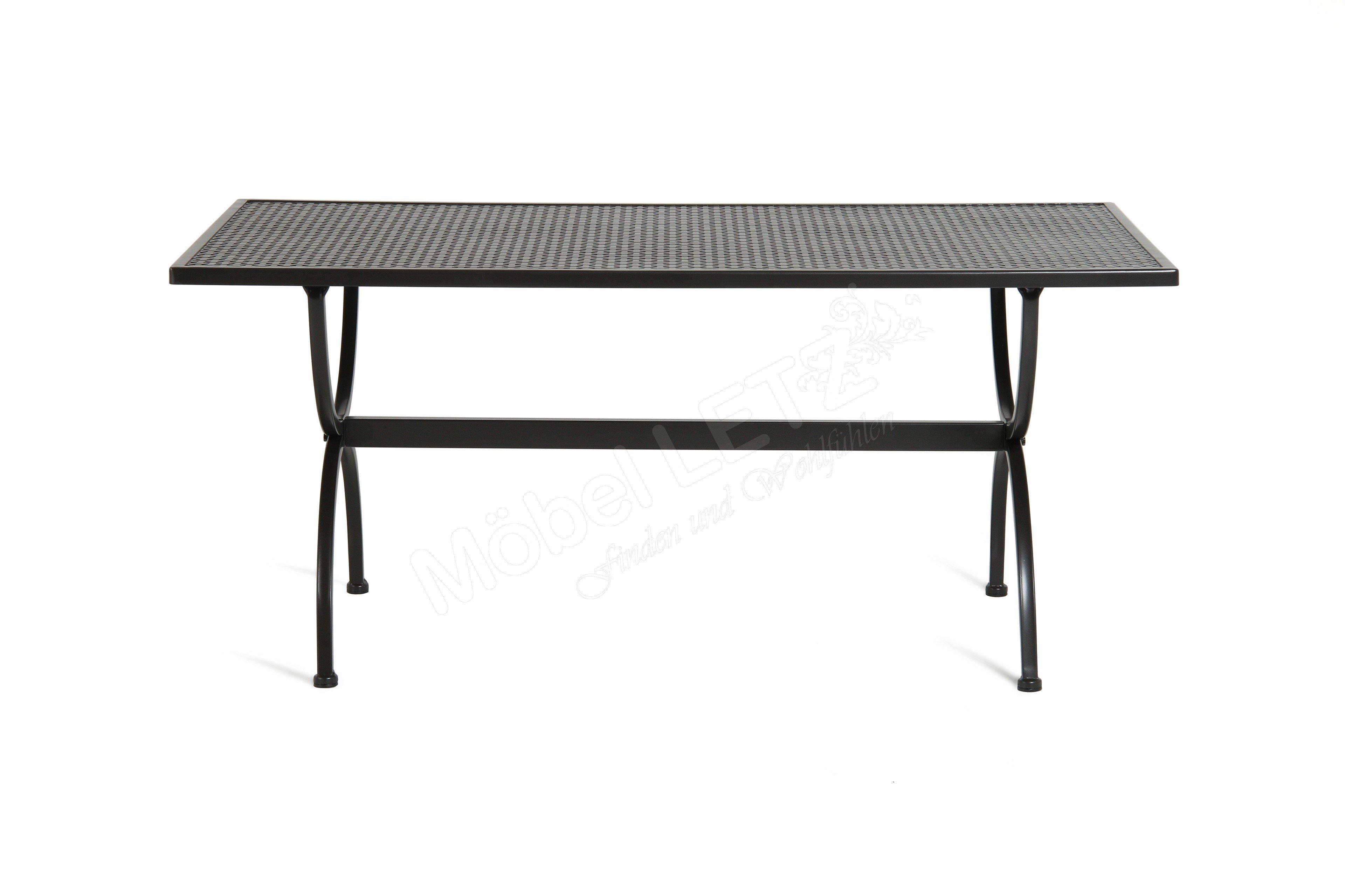 Mbm Tisch Romeo 156 135 Schmiedeeisen Ca 160 X 90 Cm Mobel Letz