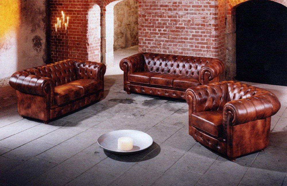 max winzer bridgeport chesterfield sofa braun m bel letz ihr online shop. Black Bedroom Furniture Sets. Home Design Ideas