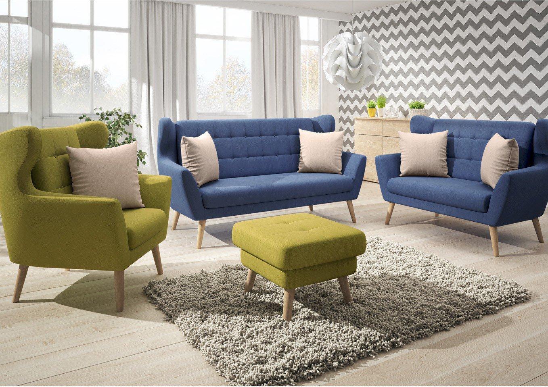Henry Von New Look   Sofagruppe Denim