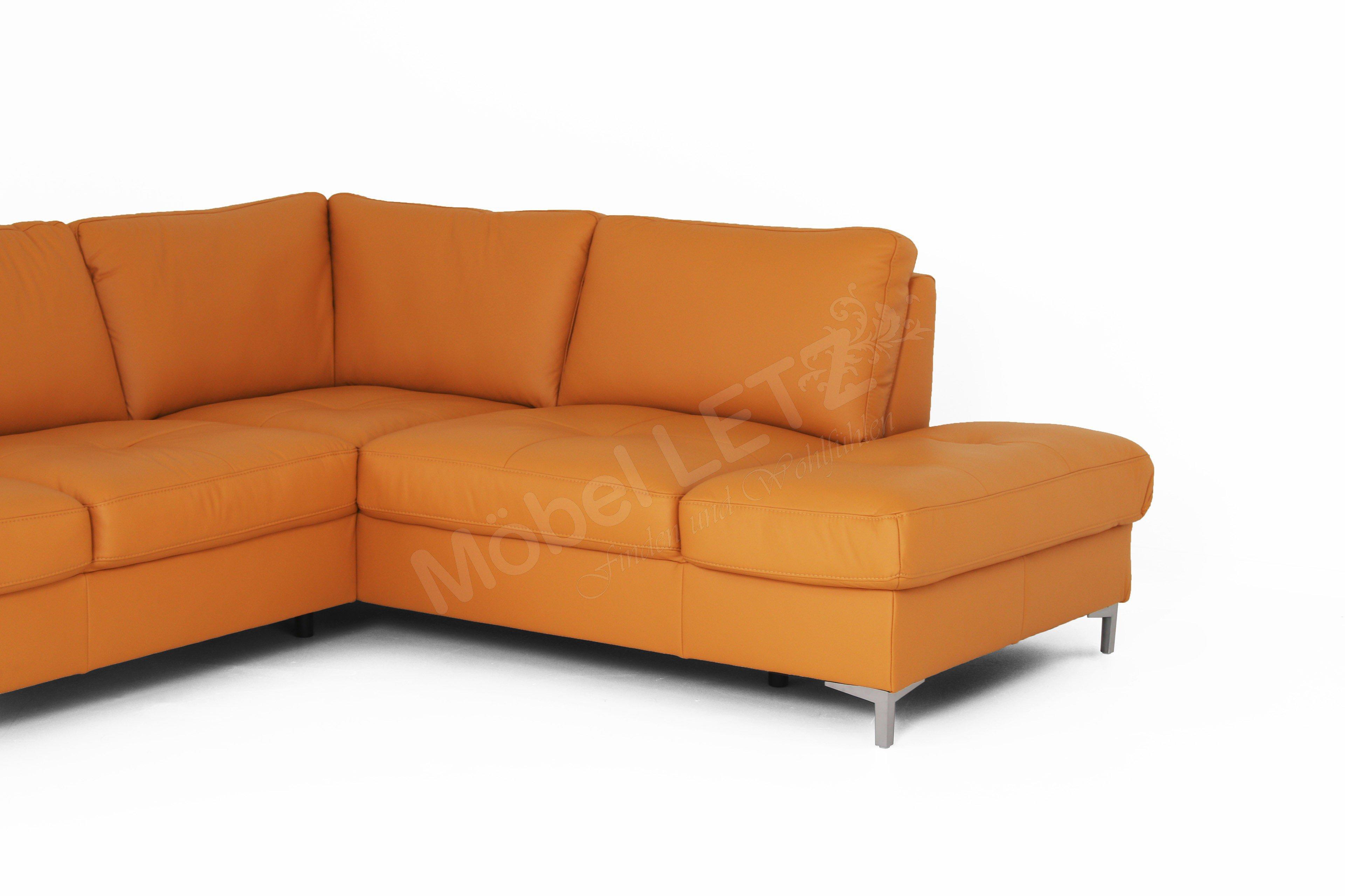 polinova larissa ledersofa curry m bel letz ihr online shop. Black Bedroom Furniture Sets. Home Design Ideas