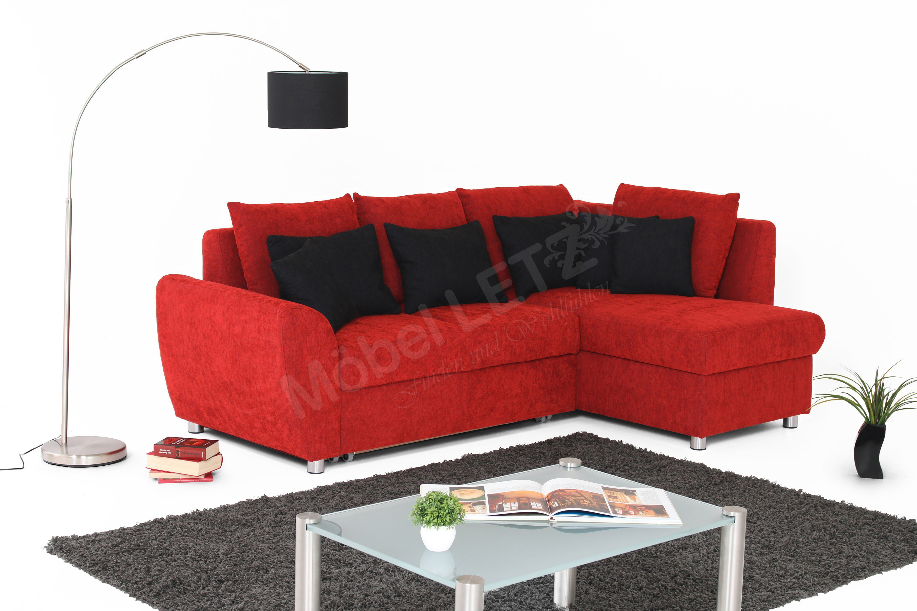 Sofa Multiflexx / Allround von Poco Polstermöbel in Rot   Möbel ...