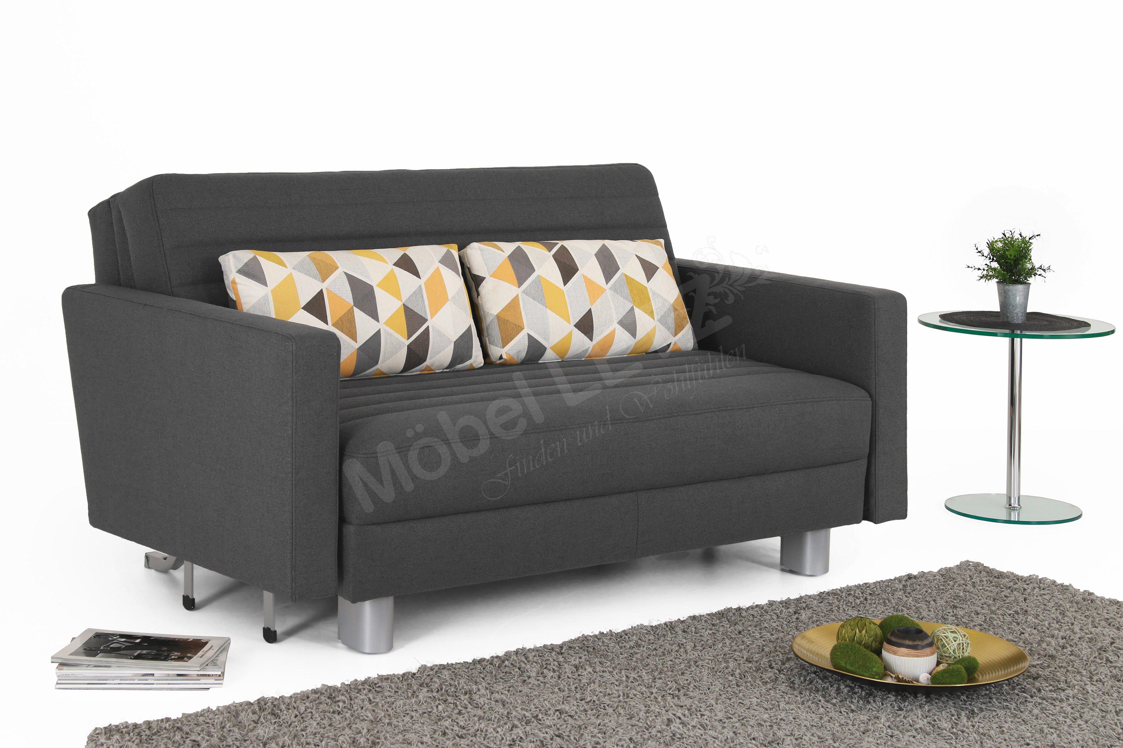 schlafsofa mit bettkasten zum ausziehen elegant. Black Bedroom Furniture Sets. Home Design Ideas