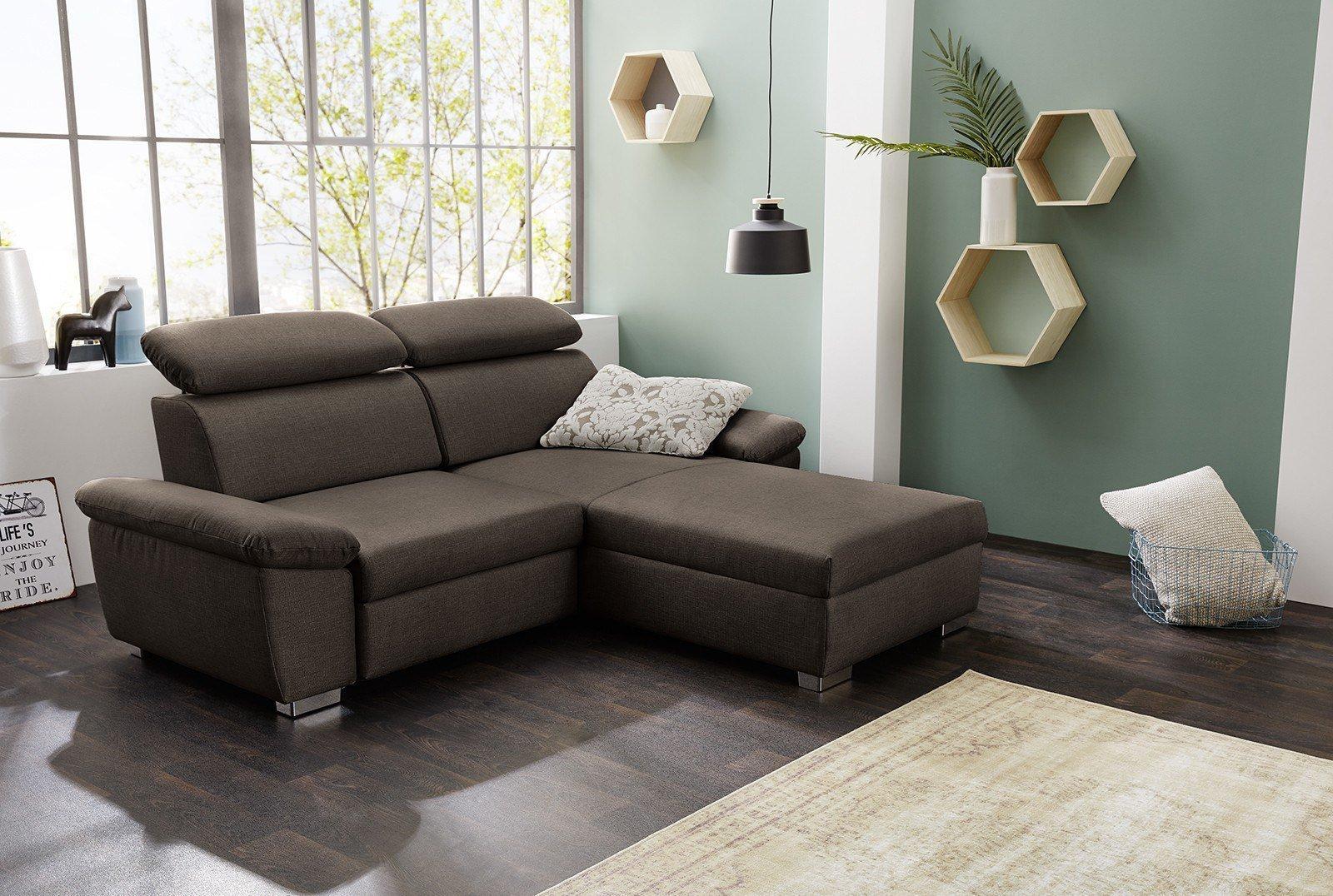 kamen von jockenh fer eckcouch braun m bel letz ihr online shop. Black Bedroom Furniture Sets. Home Design Ideas