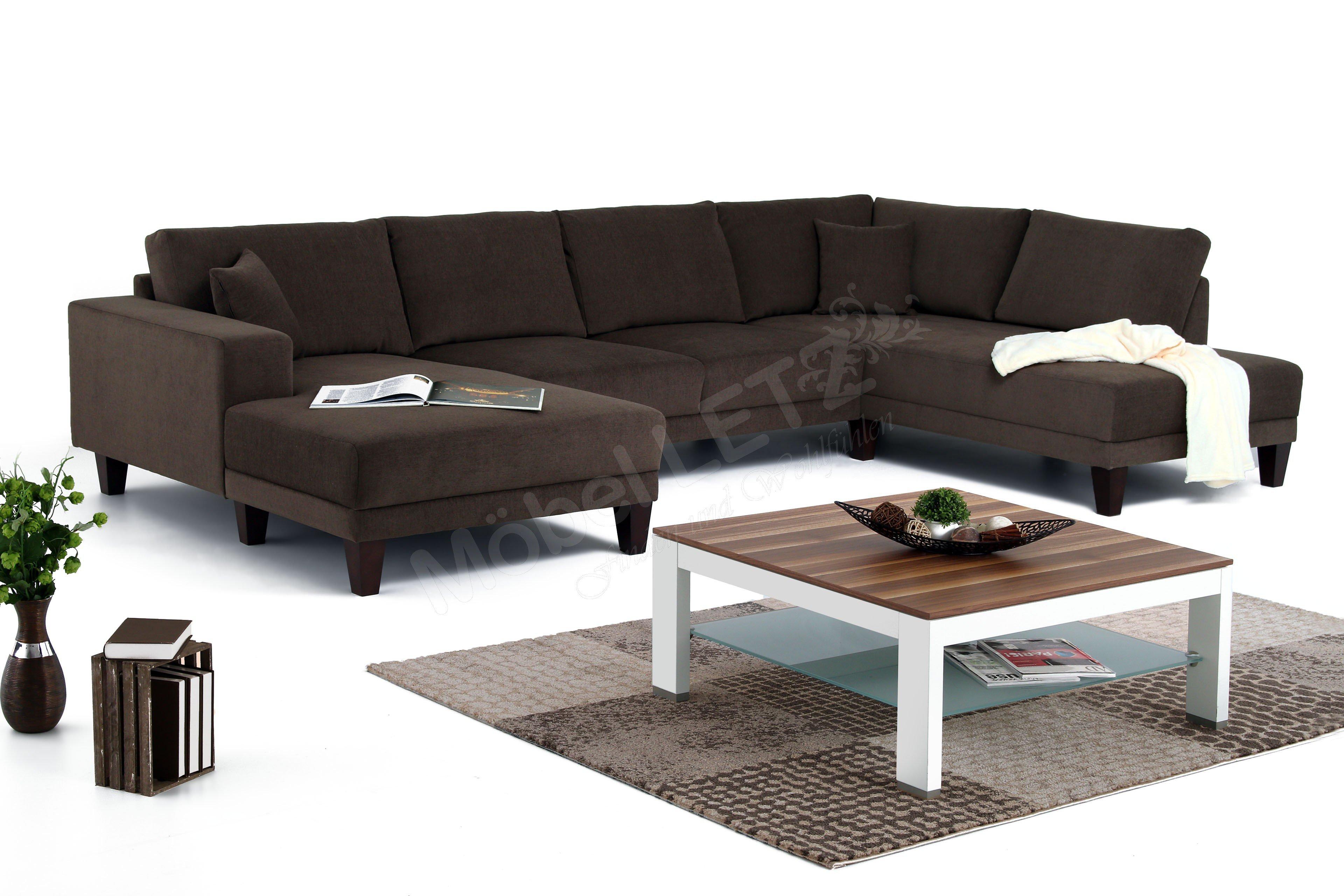 candy modesto polstergarnitur in mocca m bel letz ihr online shop. Black Bedroom Furniture Sets. Home Design Ideas