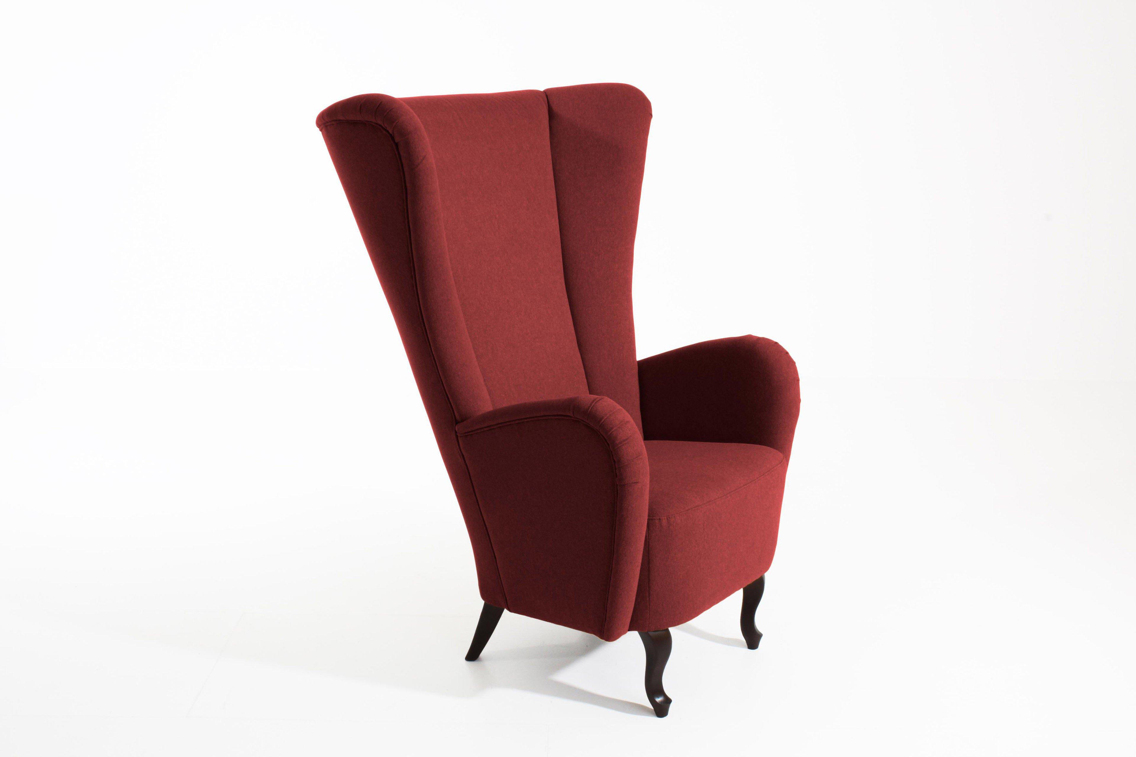 max winzer aurora sessel in rot m bel letz ihr online shop. Black Bedroom Furniture Sets. Home Design Ideas