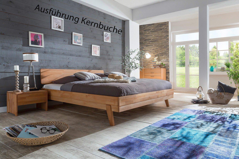 woodlive livia holzbett wildeiche m bel letz ihr online shop. Black Bedroom Furniture Sets. Home Design Ideas
