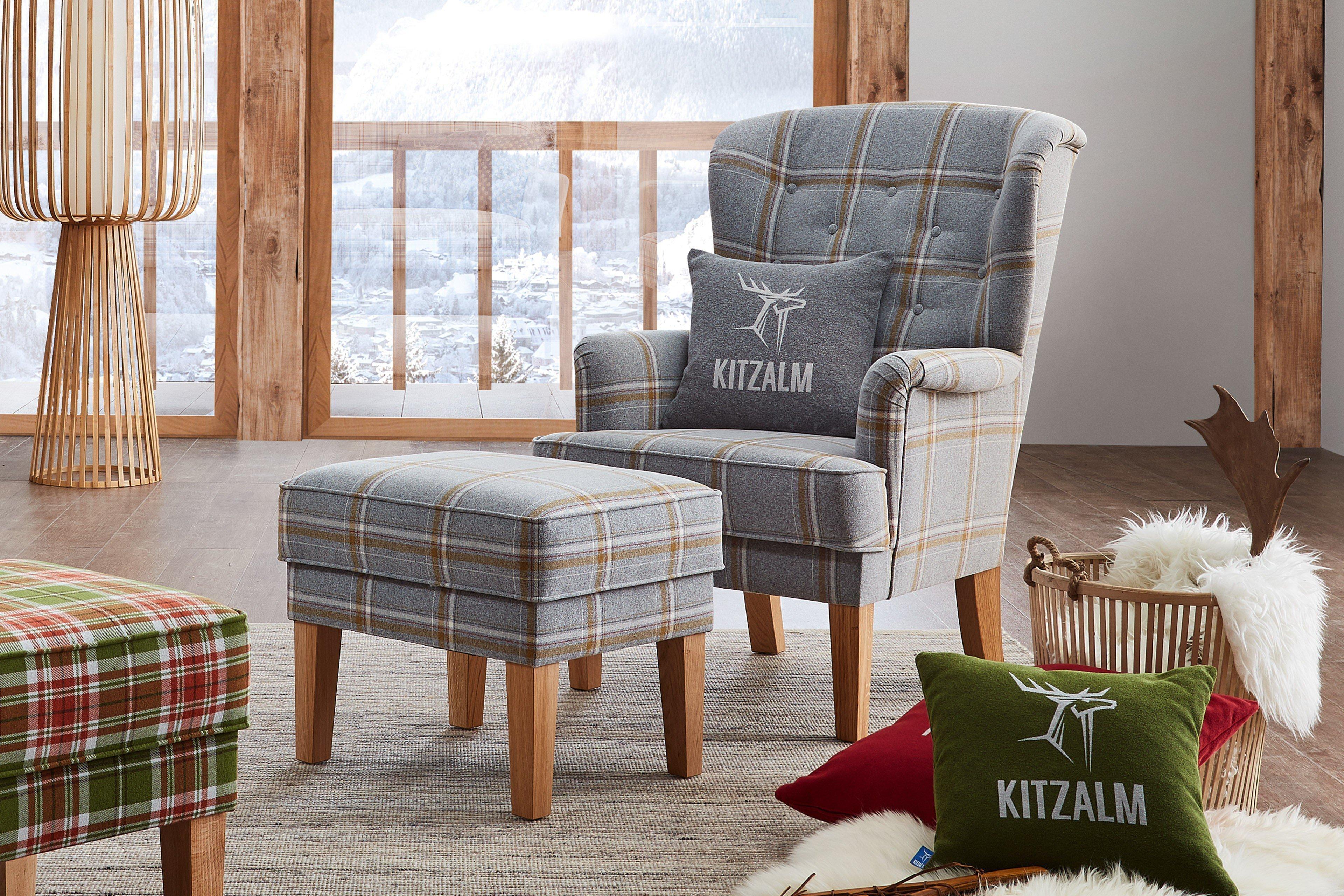 schr no reith ohrenbackenessel grau gelb kariert m bel. Black Bedroom Furniture Sets. Home Design Ideas