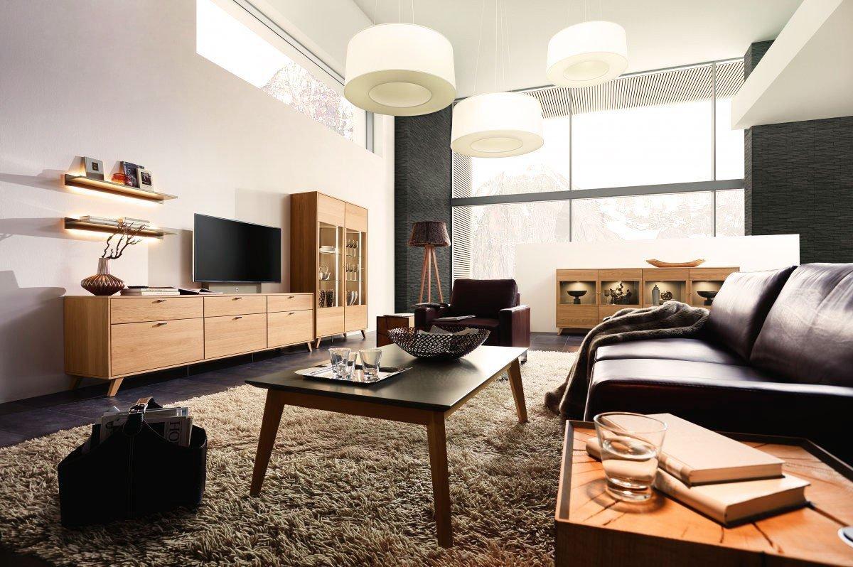 rietberger m belwerke wohnwand deviso eiche sand terra m bel letz ihr online shop. Black Bedroom Furniture Sets. Home Design Ideas
