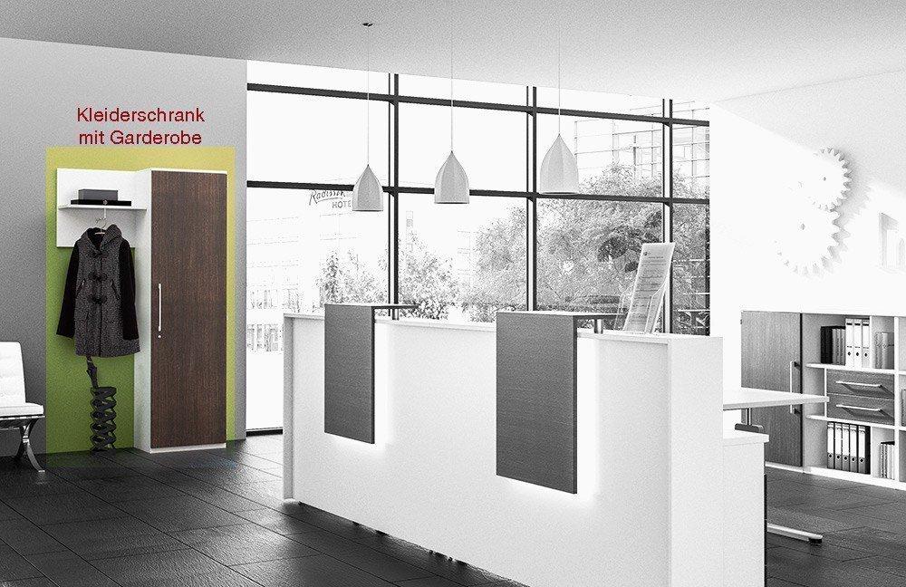 Röhr-Bush Techno Empfangstheke weiß   Möbel Letz - Ihr Online-Shop