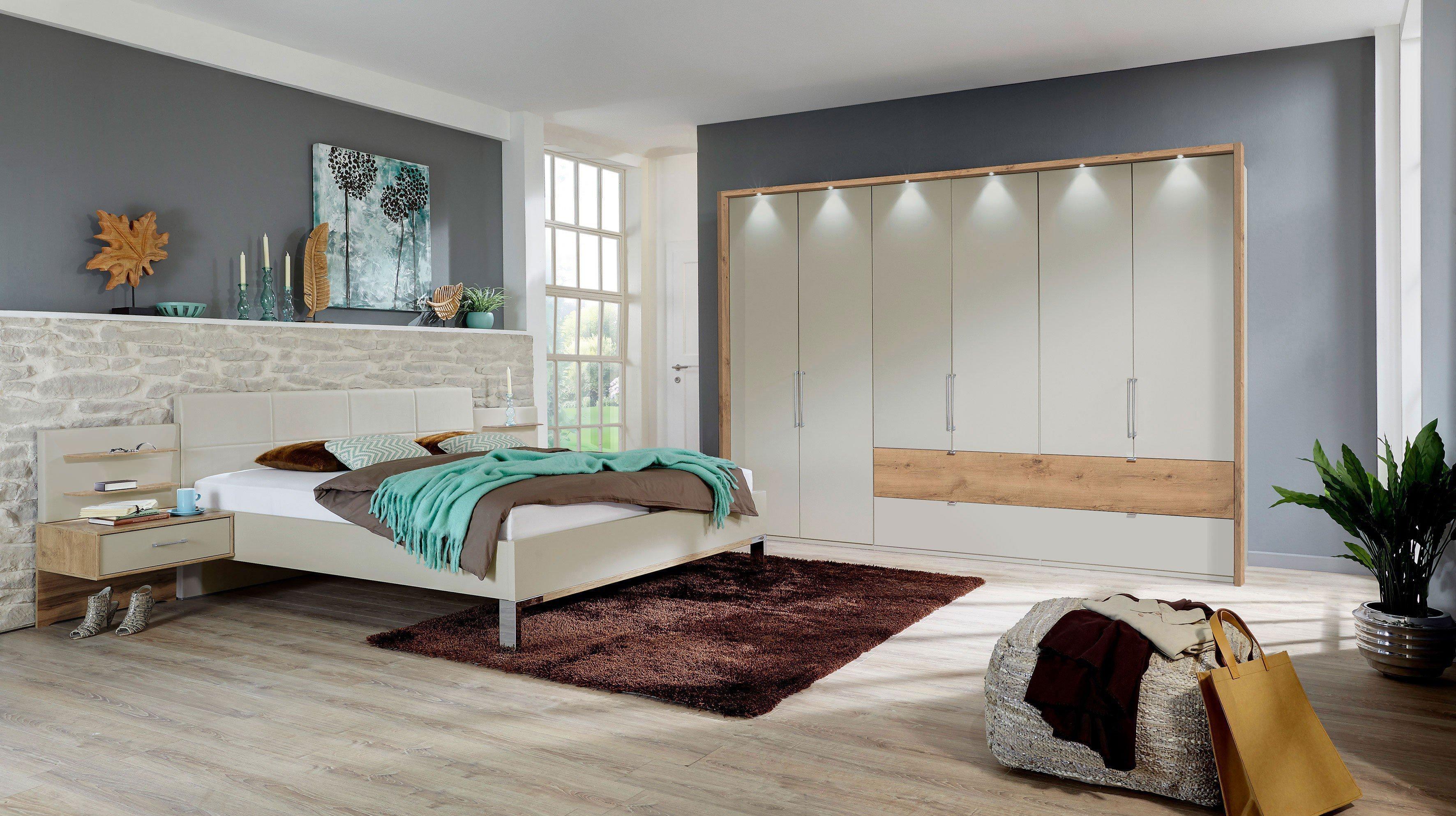 wiemann lyon schlafzimmer komplett set m bel letz ihr. Black Bedroom Furniture Sets. Home Design Ideas