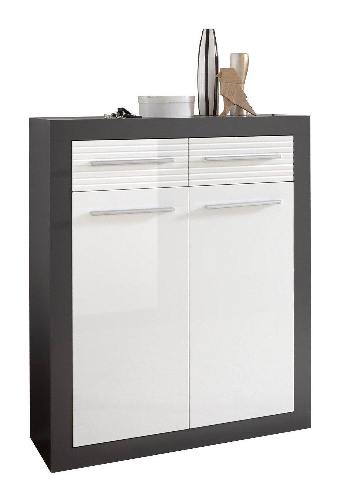 first look schuhschrank kolibri grau m bel letz ihr. Black Bedroom Furniture Sets. Home Design Ideas