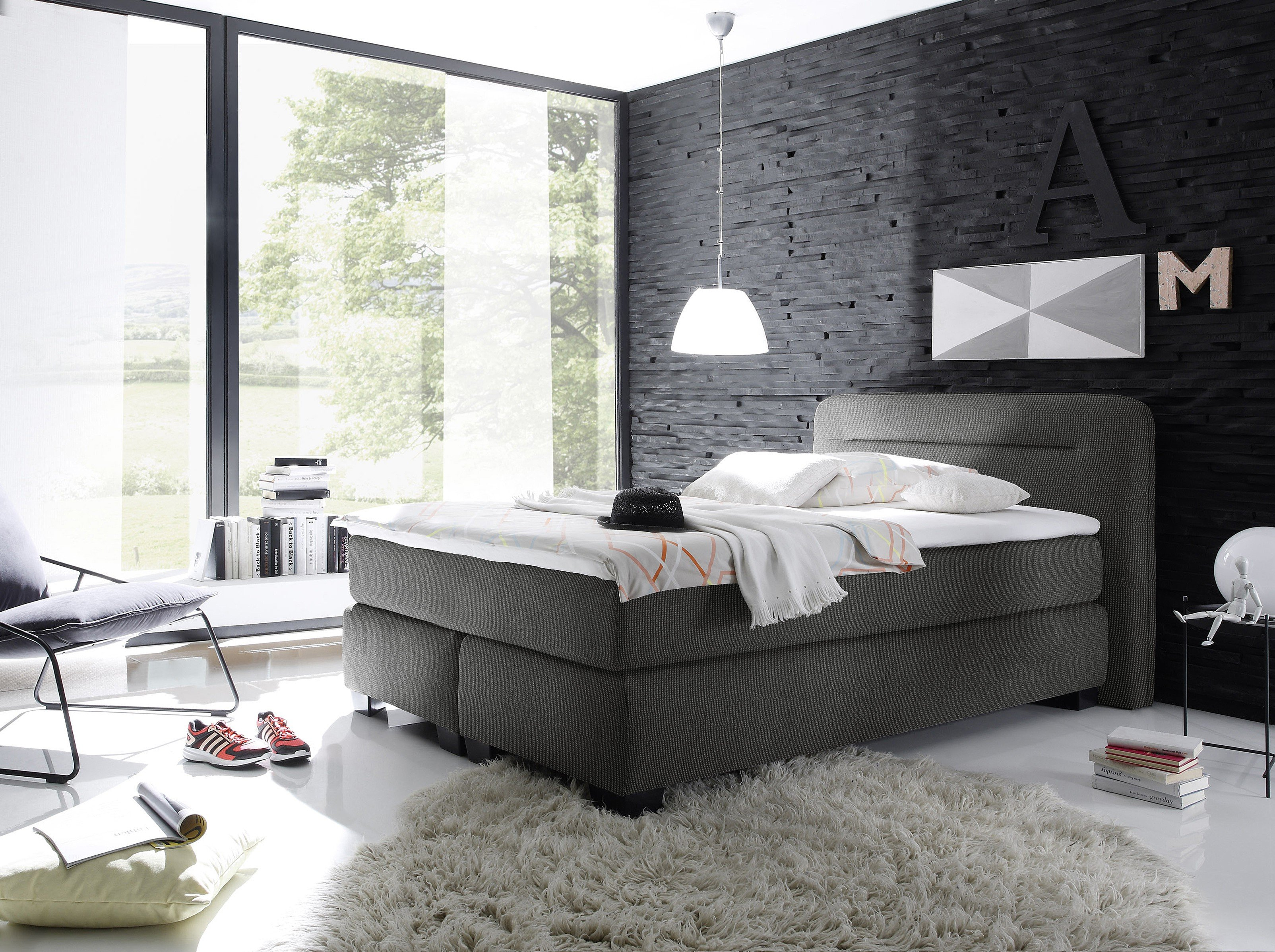 gr n grau wohnzimmer. Black Bedroom Furniture Sets. Home Design Ideas