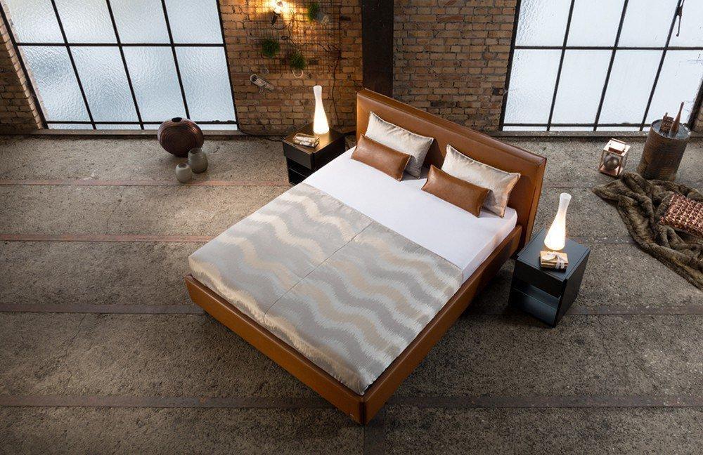 ruf polsterbett modell casa im rehbraunen kunstlederbezug | möbel, Hause deko