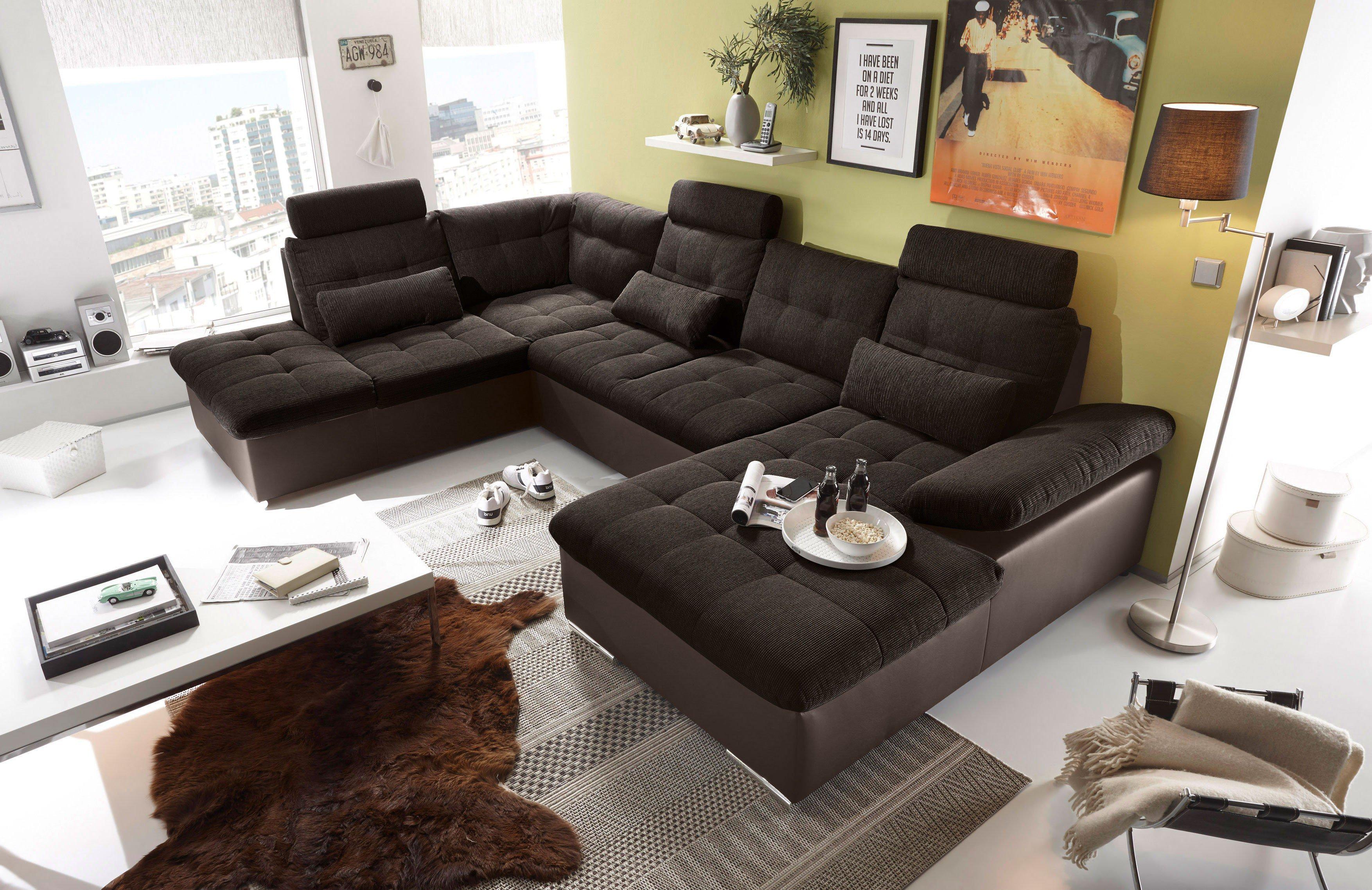 black red white jakarta polstergarnitur braun chocolate m bel letz ihr online shop. Black Bedroom Furniture Sets. Home Design Ideas