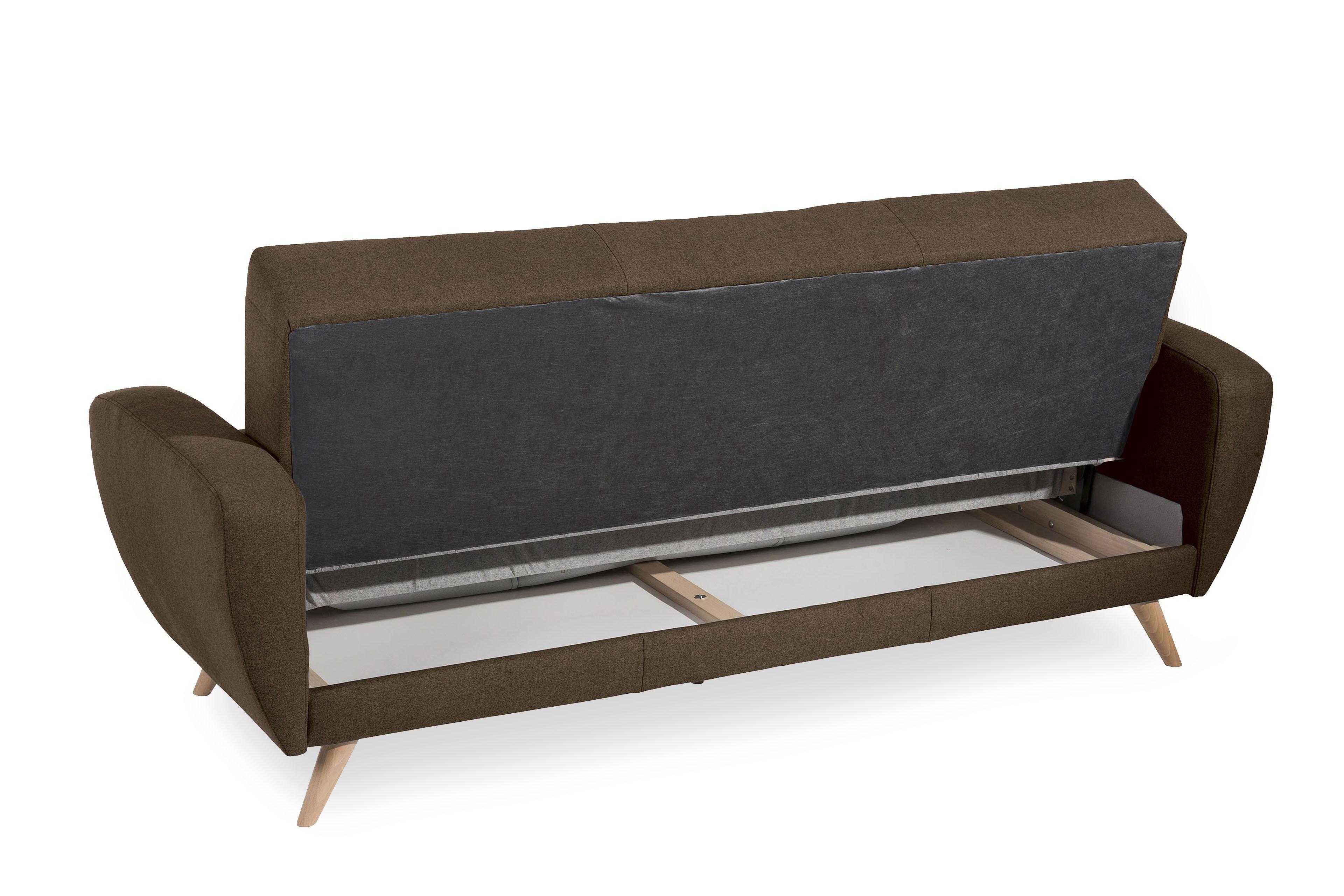 Max Winzer Jerry Einzelsofa braun-meliert   Möbel Letz - Ihr Online-Shop