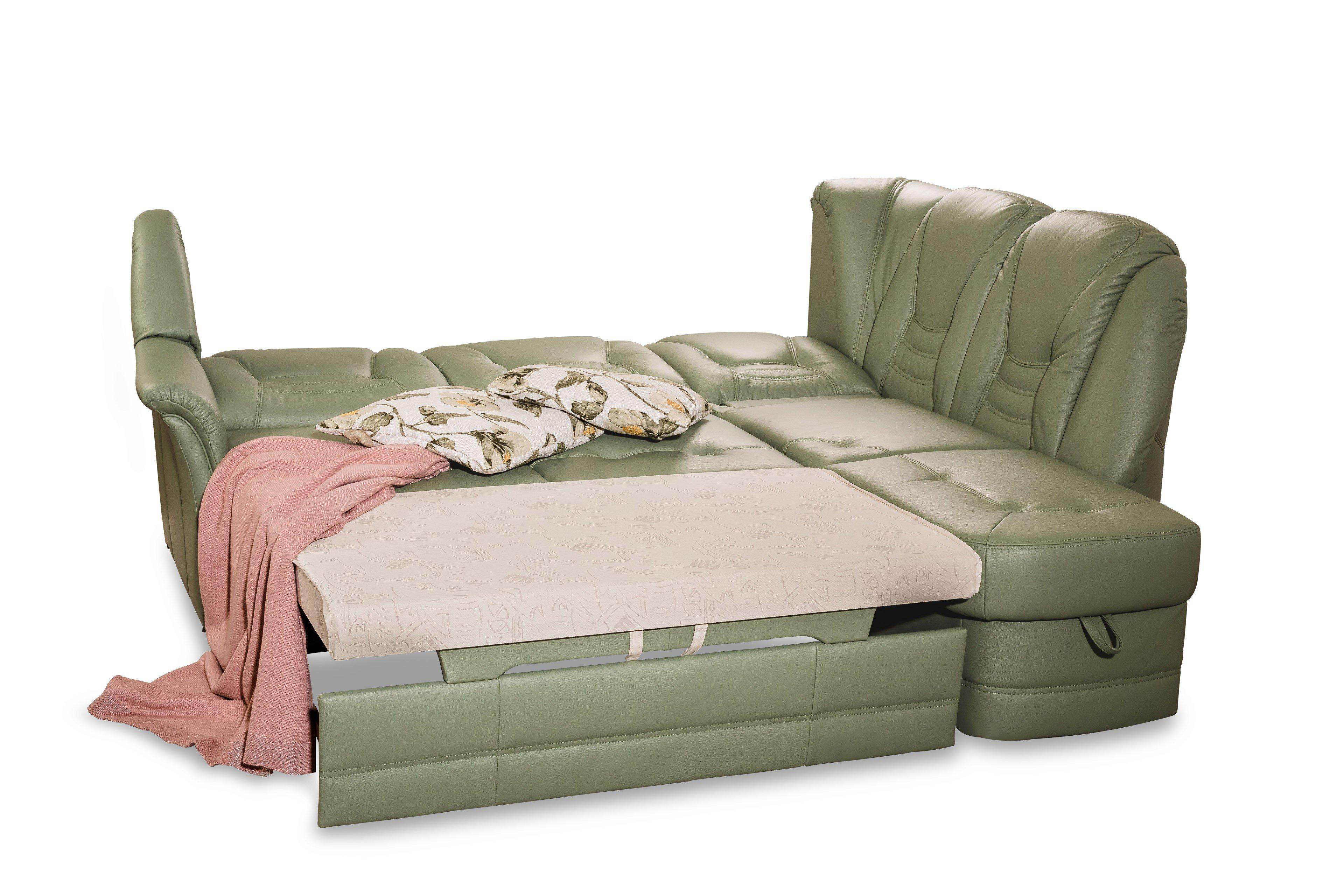 pm oelsa meissen ledersofa in gr n m bel letz ihr. Black Bedroom Furniture Sets. Home Design Ideas
