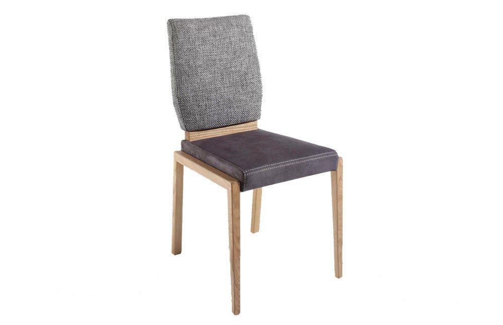 k w polsterm bel stuhl 6065 wildeiche grau braun m bel letz ihr online shop. Black Bedroom Furniture Sets. Home Design Ideas