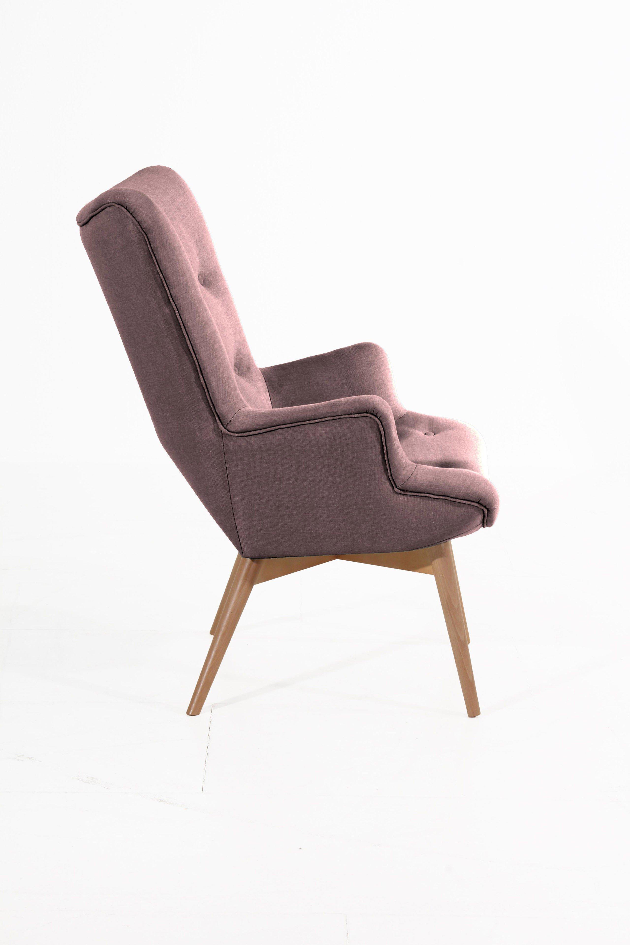 max winzer aiko sessel in aubergine m bel letz ihr. Black Bedroom Furniture Sets. Home Design Ideas